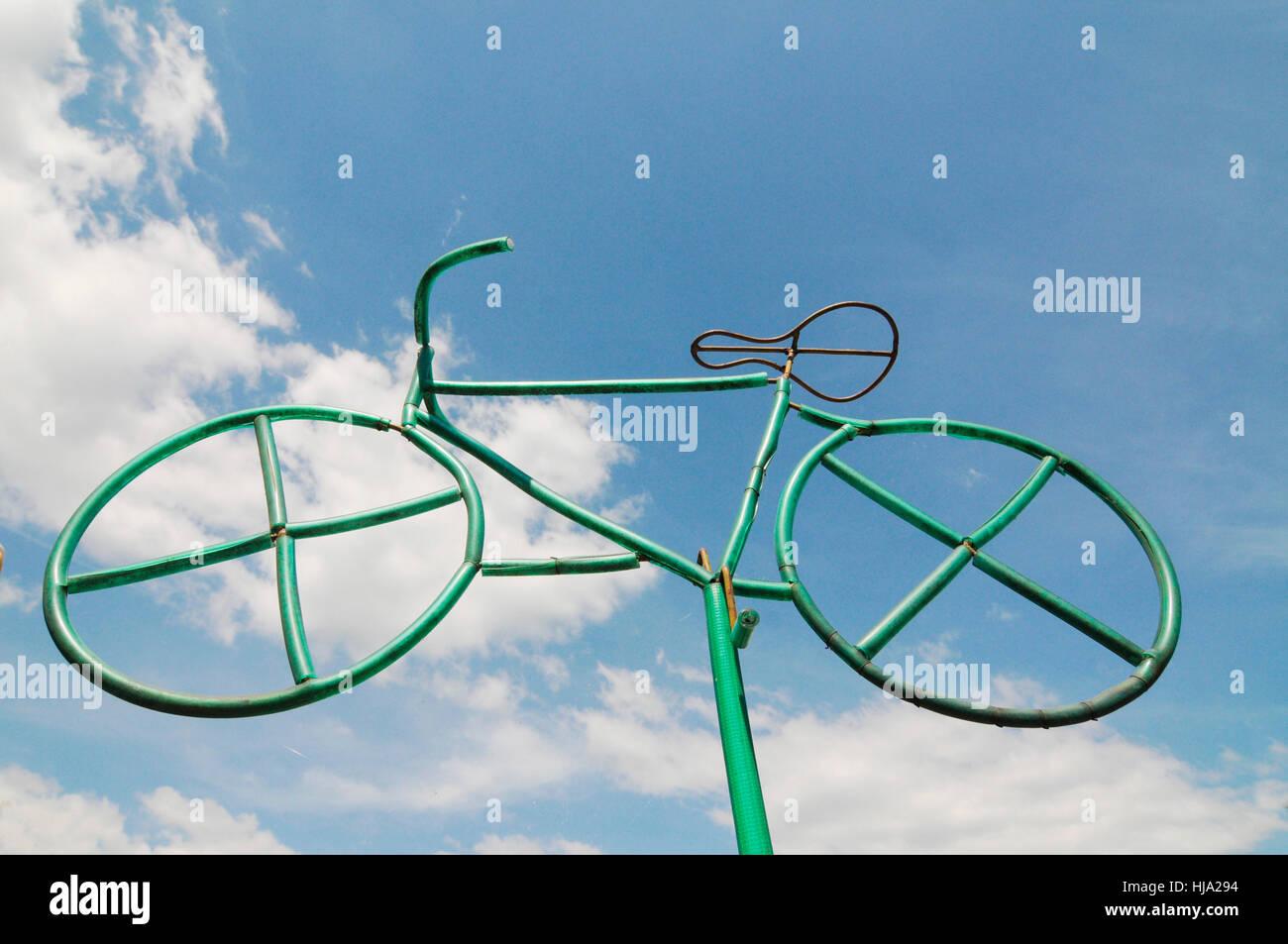 drive, wheel, traffic, transportation, biker, road traffic, transport, means of - Stock Image