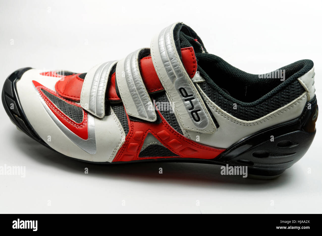 DHB brand road cycling shoe - Stock Image