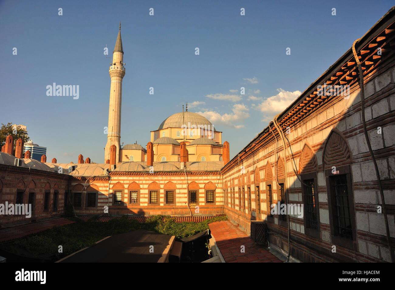 Hisar mosque izmir stock photos hisar mosque izmir stock images blue big large enormous extreme powerful imposing immense thecheapjerseys Images