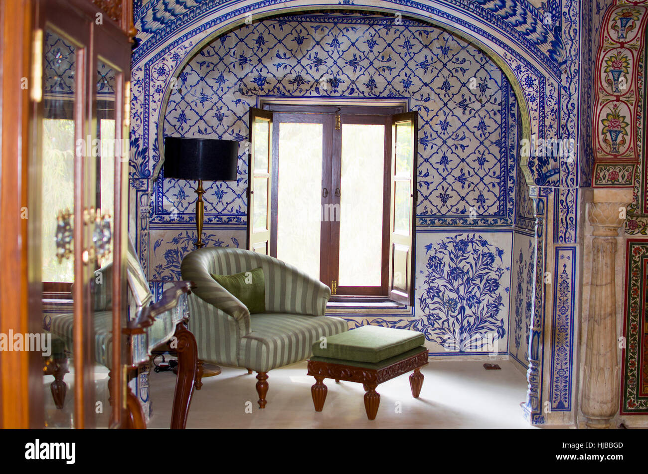 Exceptionnel Interior In The Indian Style With Furniture, An Interior, Indian, Style, Old