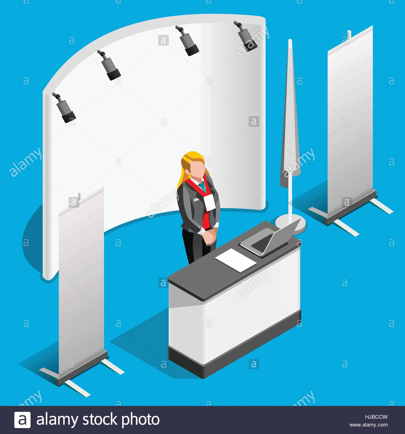 Exhibition Stand Roll Up : Exhibition booth stand desk roll up display panel d