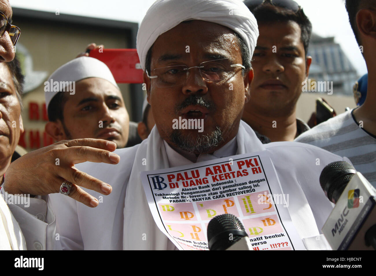 Habib Rizieq High Resolution Stock Photography And Images Alamy
