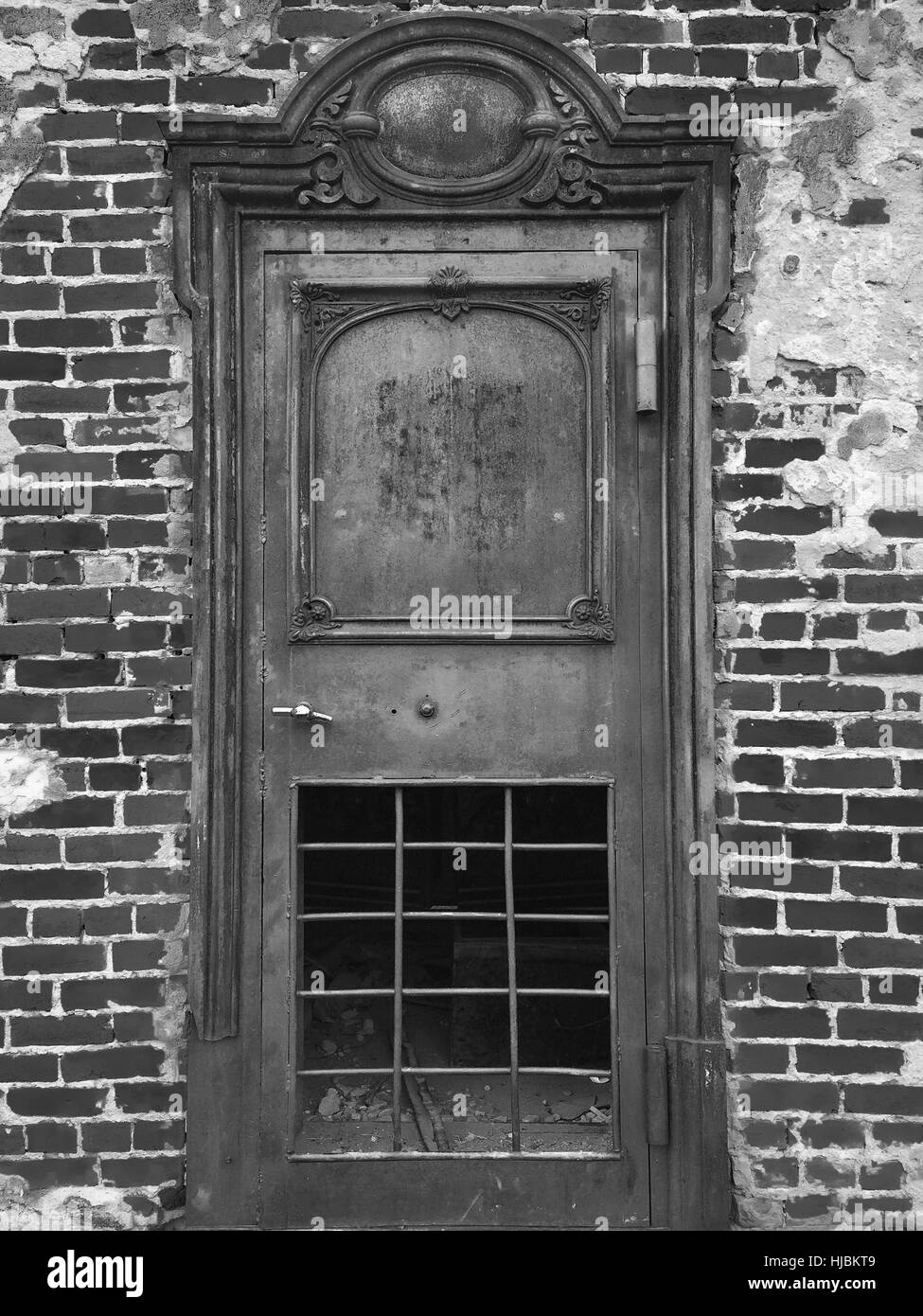 Office Door at Bodie Ghost Town,California - Stock Image