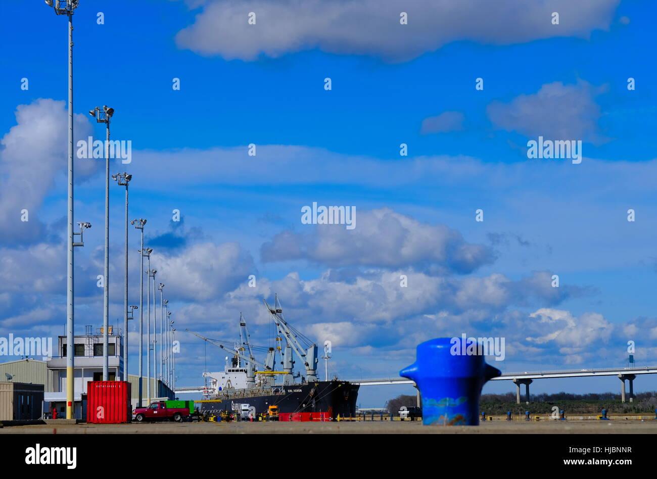 Dockside at Port - Stock Image