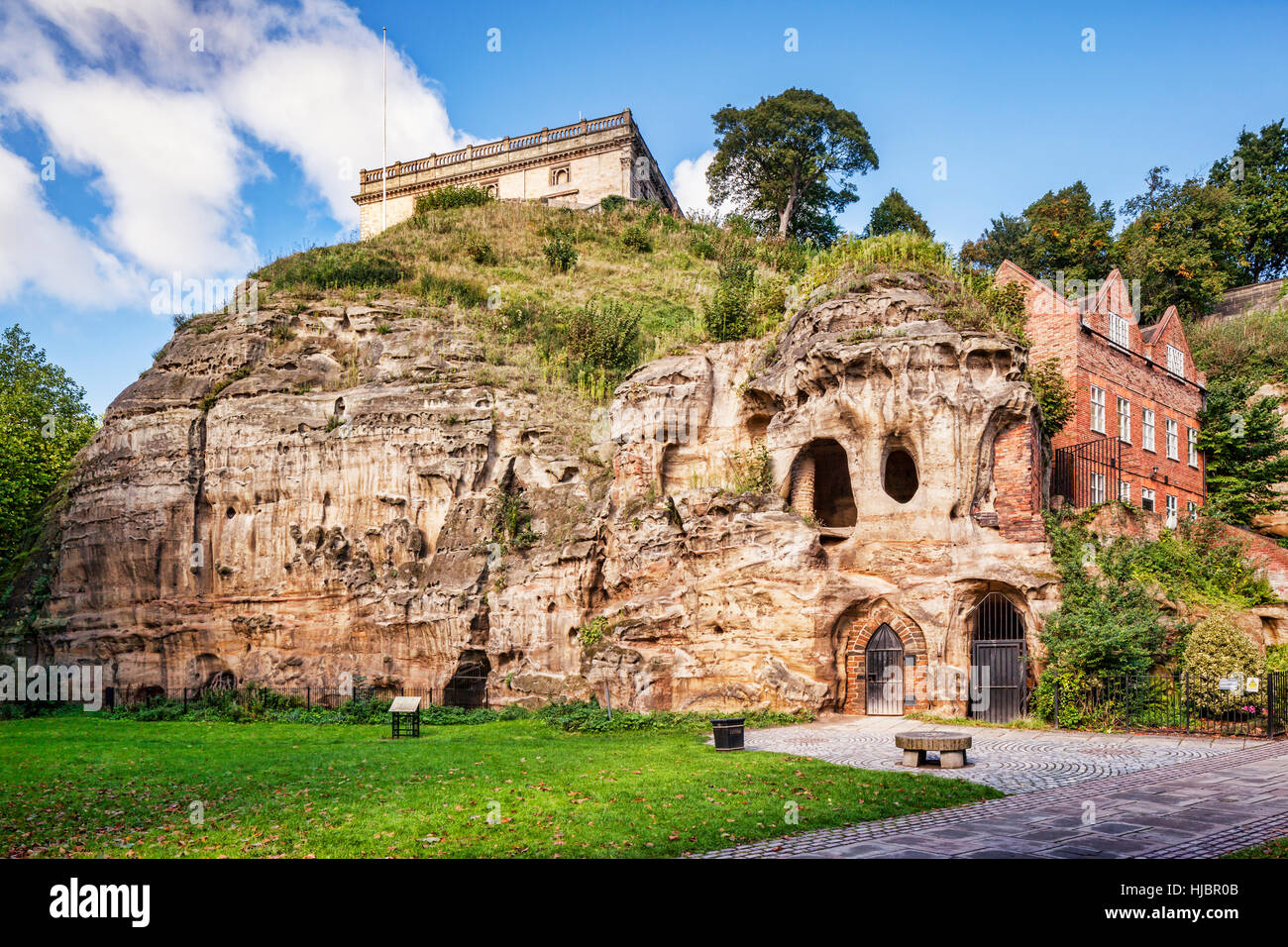 Nottingham Caves, England, UK - Stock Image