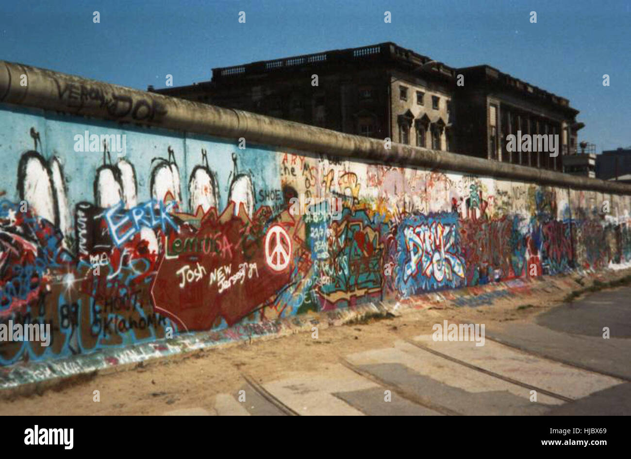 The Berlin Wall - Stock Image