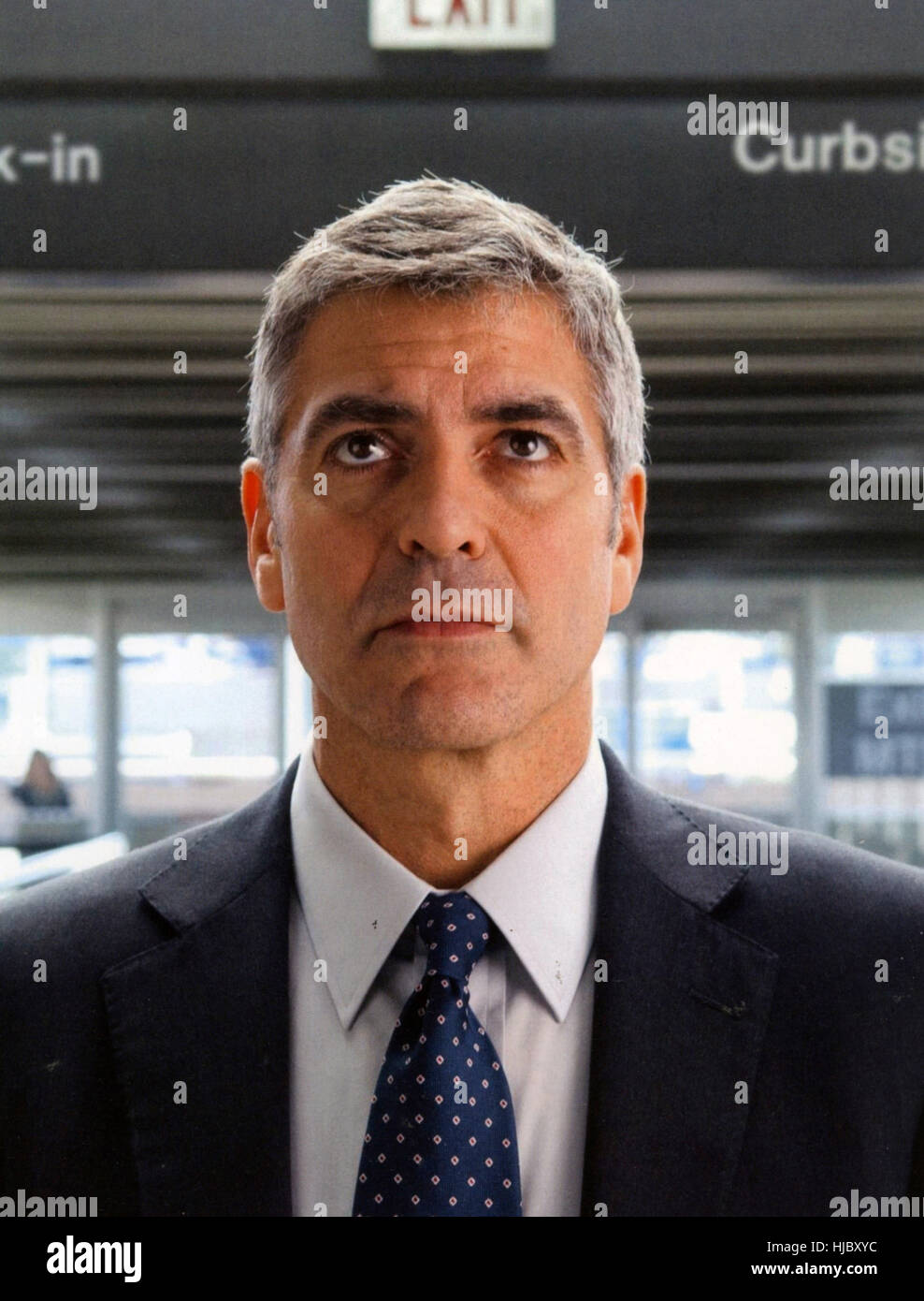 UP IN THE AIR 2009 Paramount Pictures film with George Clooney - Stock Image