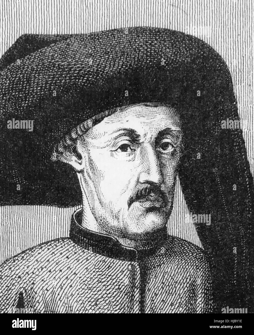 PRINCE HENRY THE NAVIGATOR (1394-1460) - Stock Image