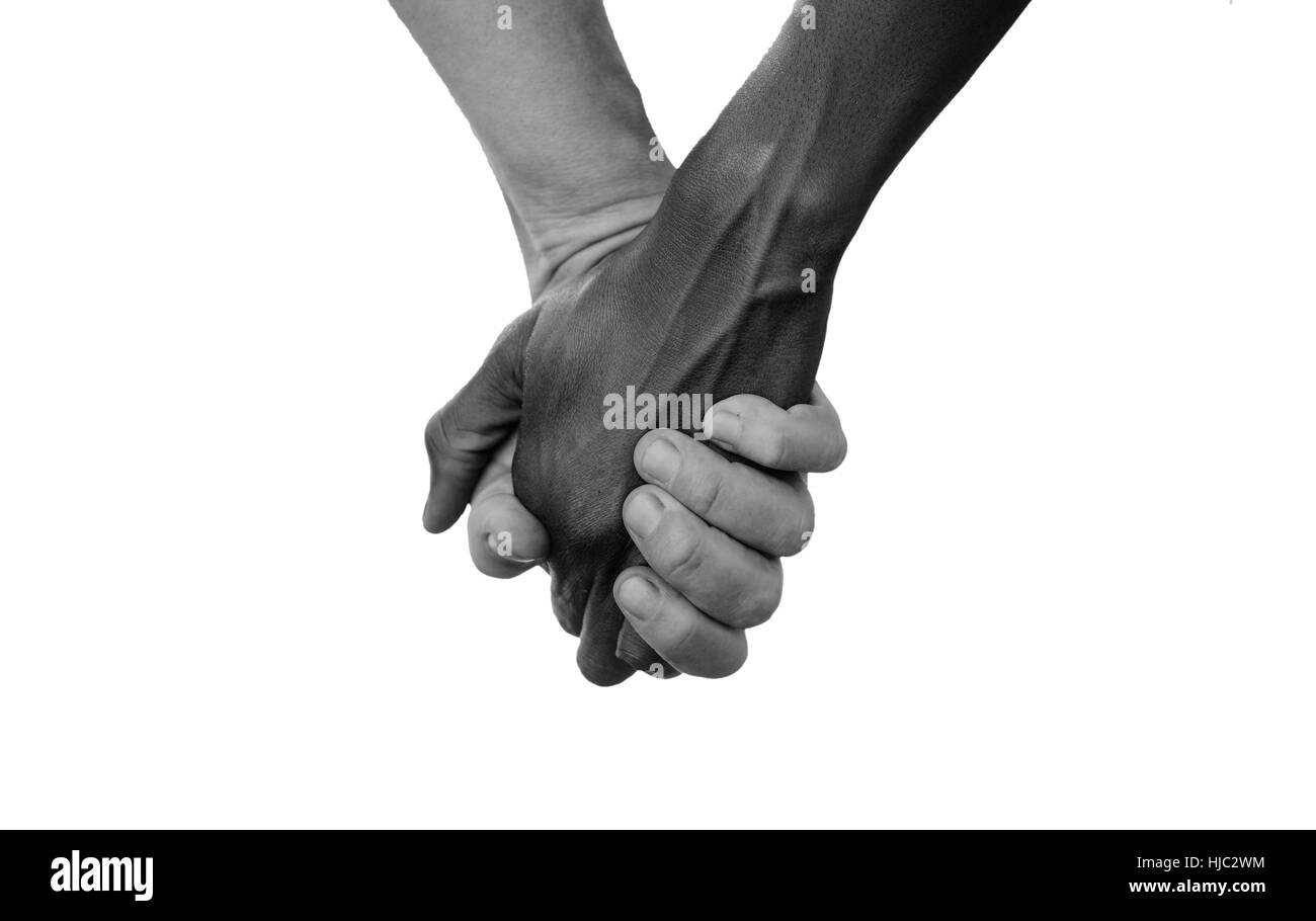 Black and white hold hands for africa union peace love a beautiful black and white hold hands for africa union peace love a beautiful shot with lots of possible background symbols no to racism white woman holds han biocorpaavc Choice Image