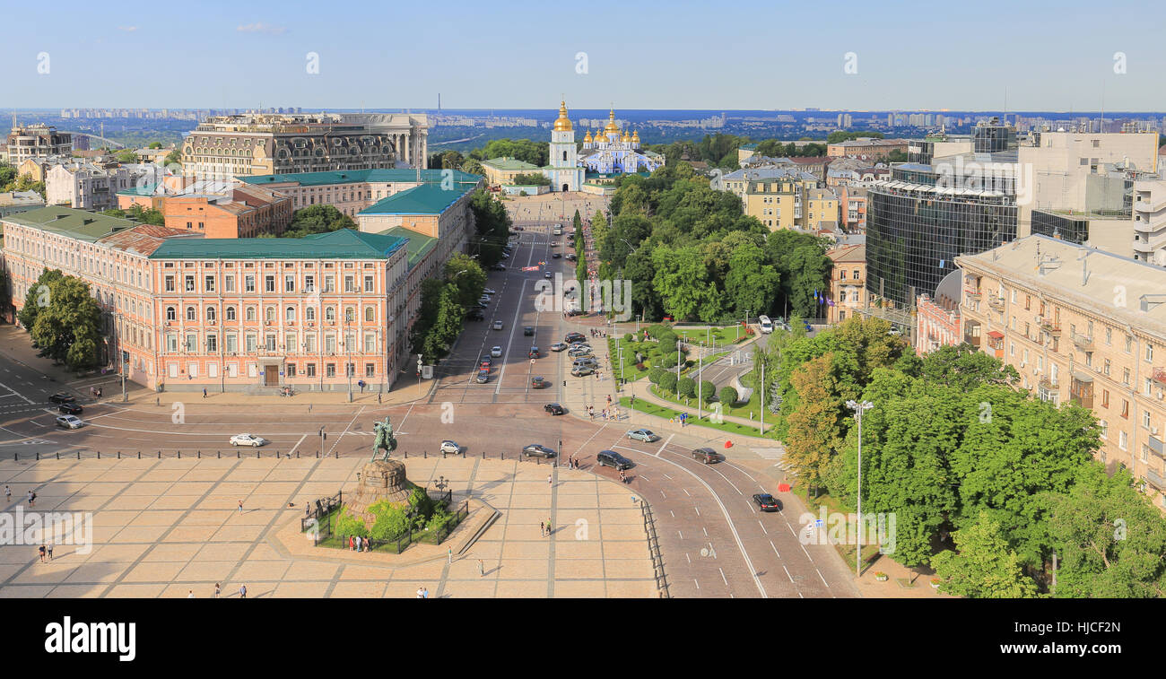 Kiev city - Stock Image
