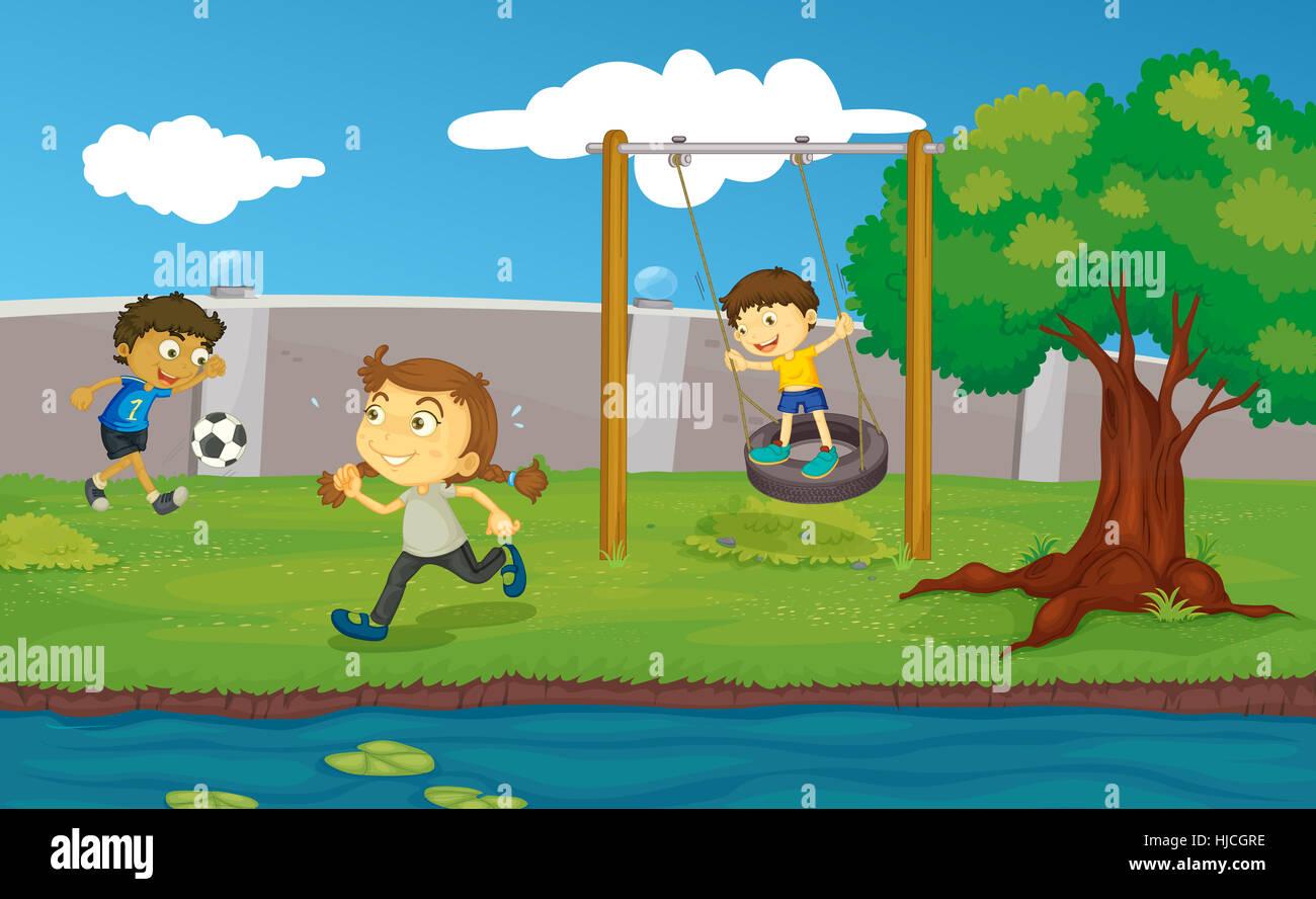 blue, friendship, job, environment, enviroment, game, tournament, play, - Stock Image