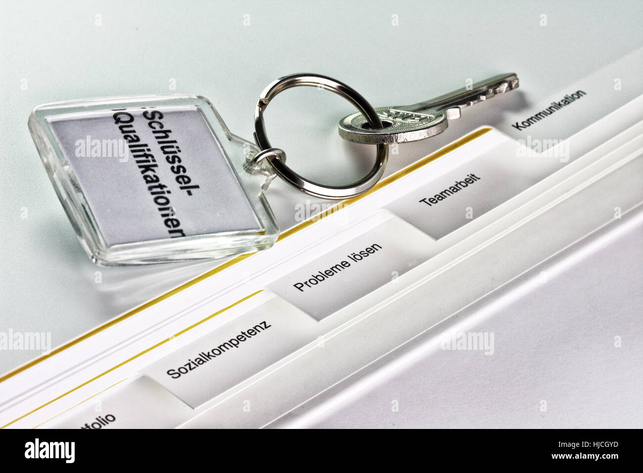 Schlüsselqualifikationen -  key qualifications - Stock Image