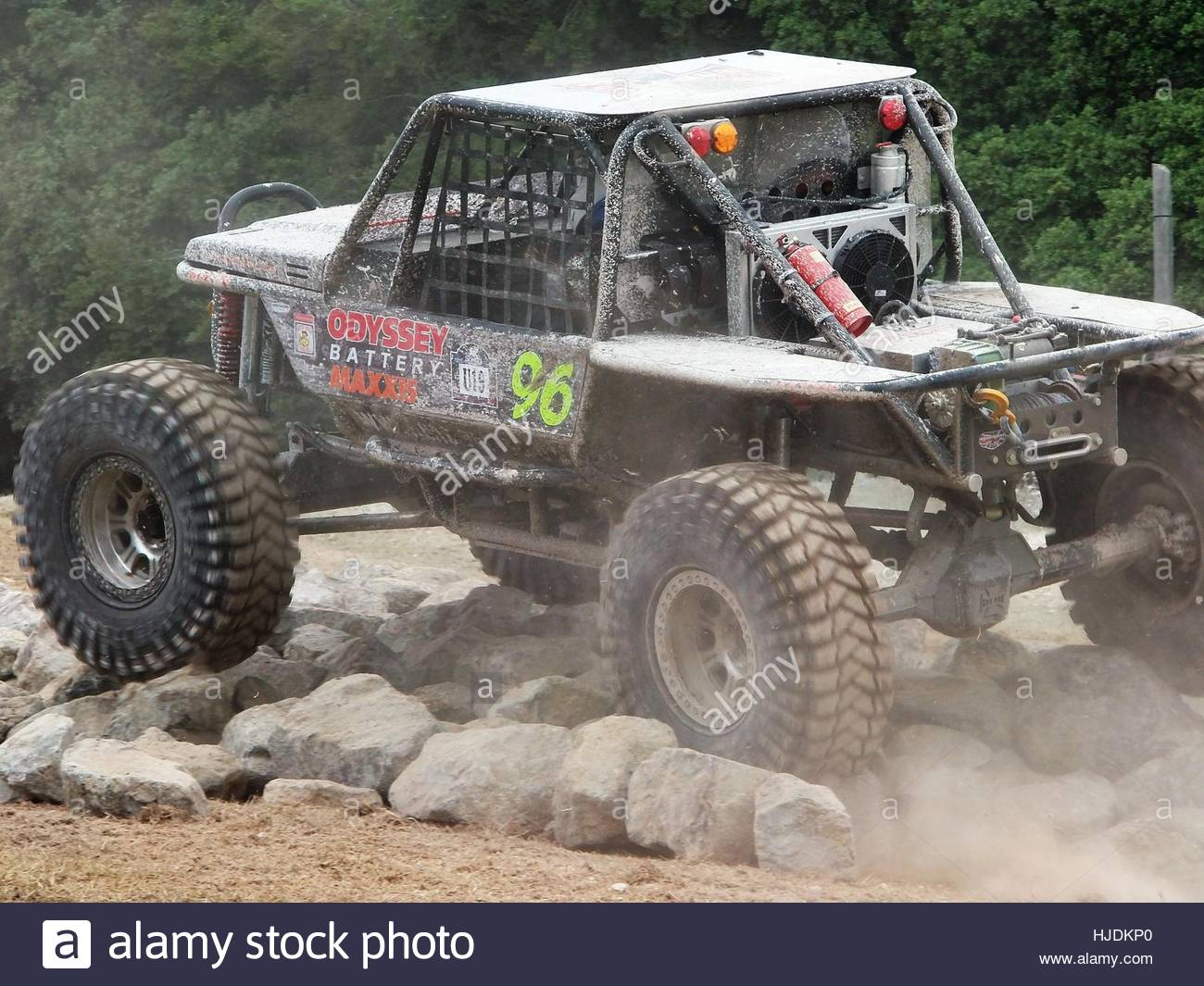 offroad truggy - Goodwood Festival of Speed - Stock Image