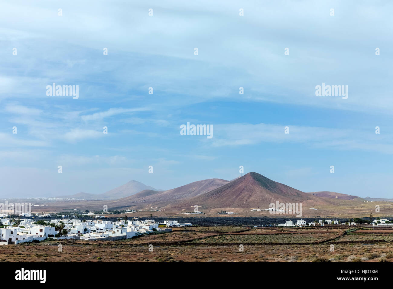 Volcan de Tahiche, Teguise, Lanzarote, Canary Islands, Spain - Stock Image