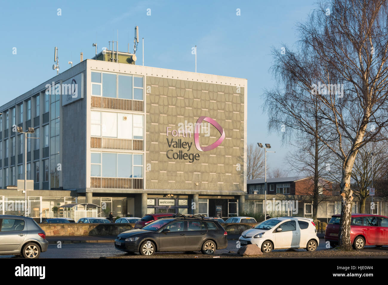 Forth Valley College, Falkirk, Scotland, UK - Stock Image