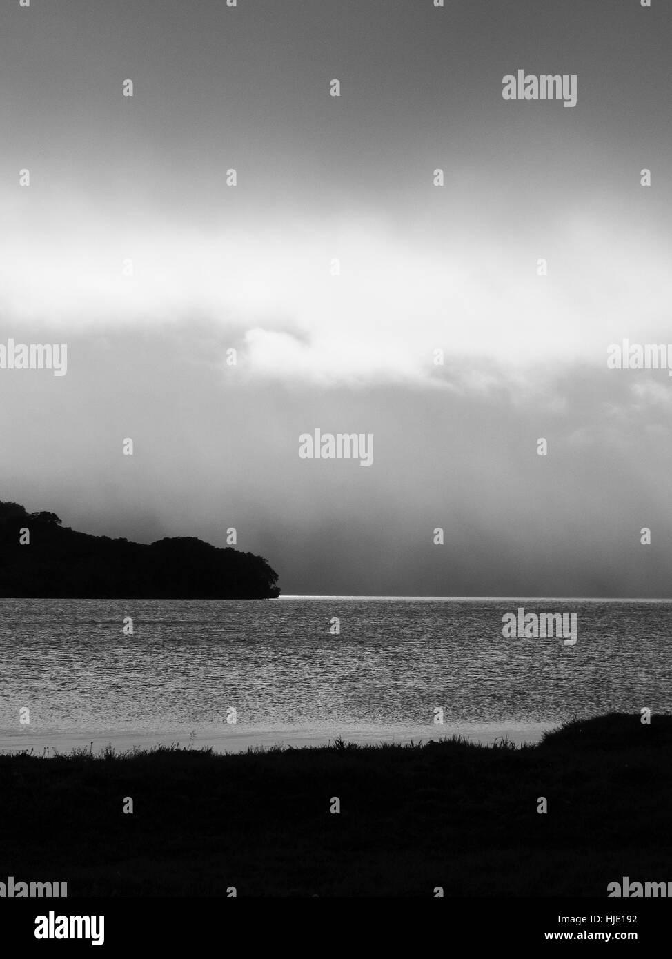 Kurile lake, Kamchatka. Siberia.Russia Stock Photo