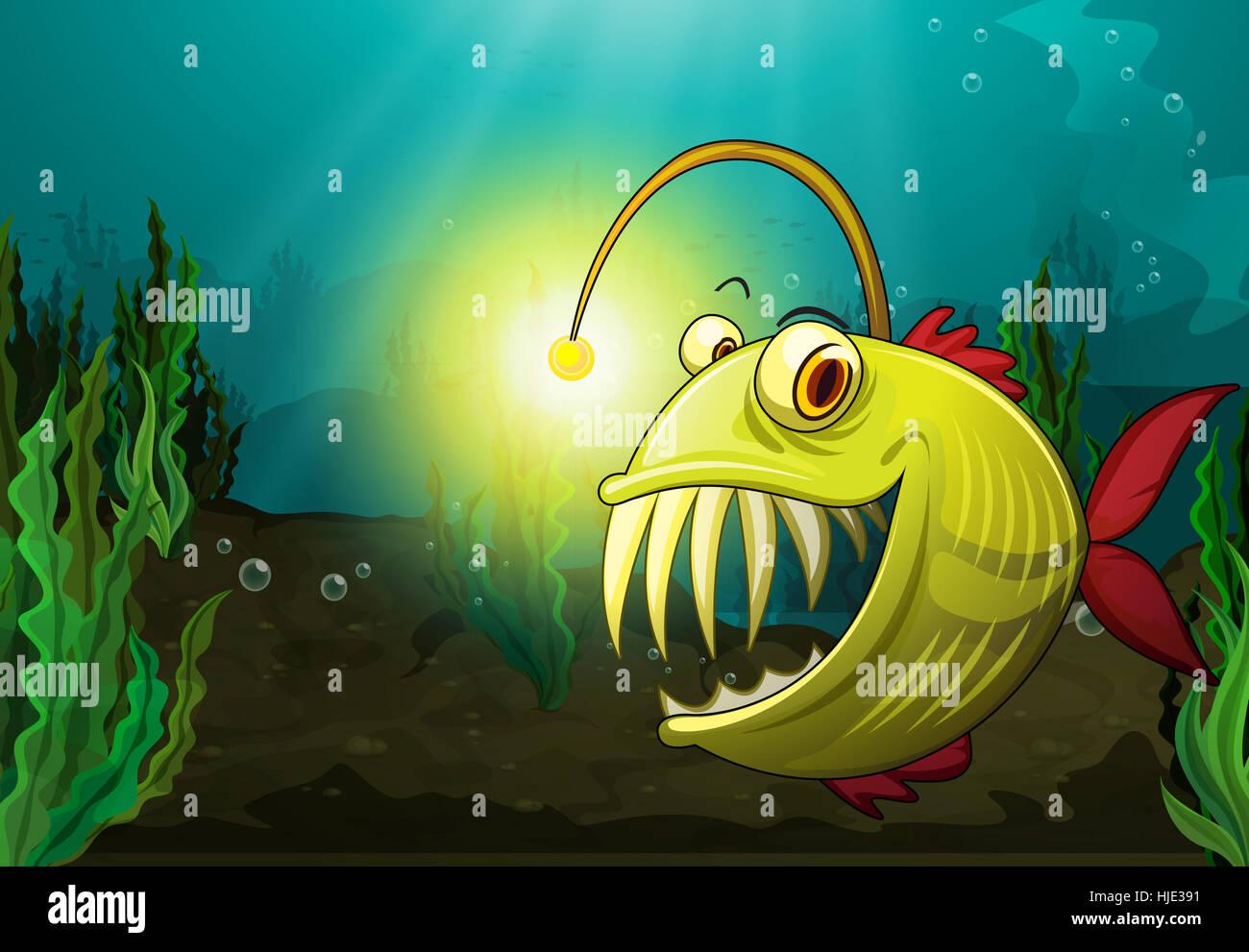 Deep Sea Anglerfish Stock Photos & Deep Sea Anglerfish Stock Images ...