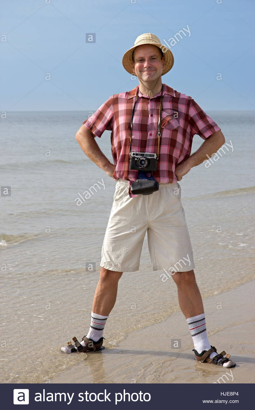 beach, seaside, the beach, seashore, tourist, photographer, funny, posing, salt