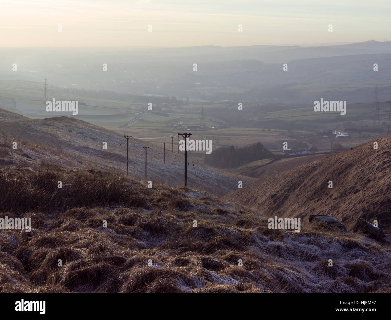 Landscape Photography Taken In The North Of England Using A Medium Stock Photo Alamy