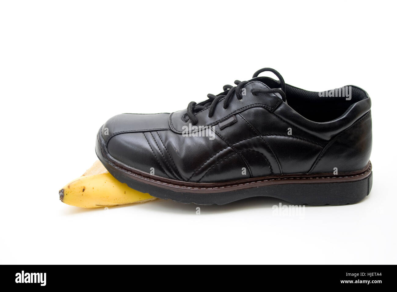 shoestring shoe - Stock Image