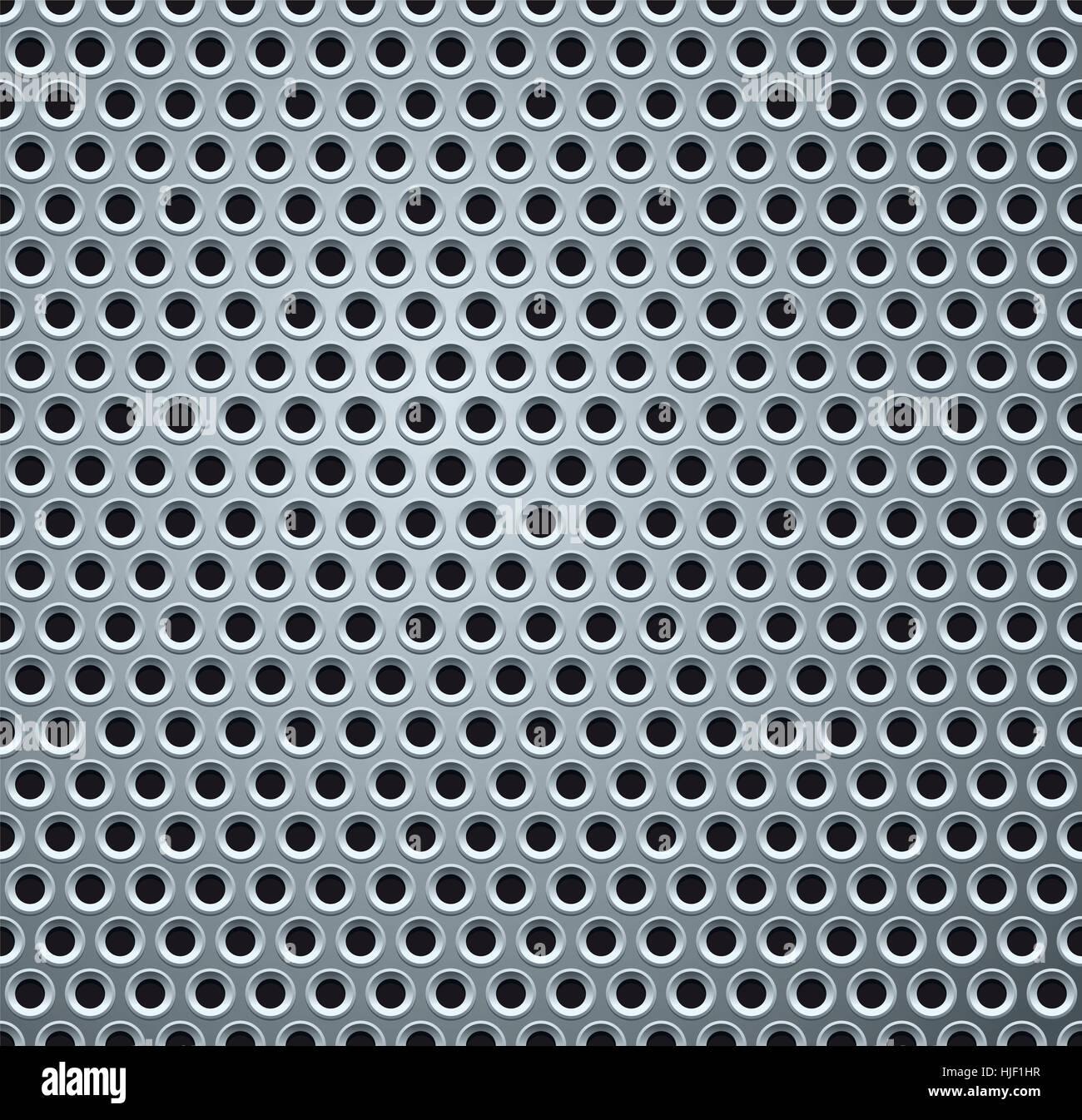 silver, metal, mesh, pattern, polished, seamless, backdrop, background, - Stock Image