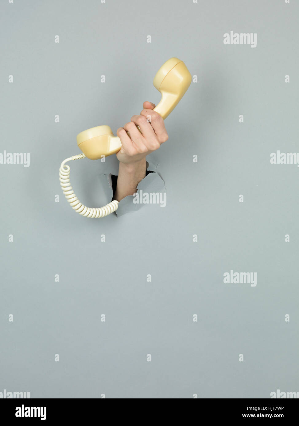 telephone, phone, call, finger, object, single, colour, model, design, project, Stock Photo