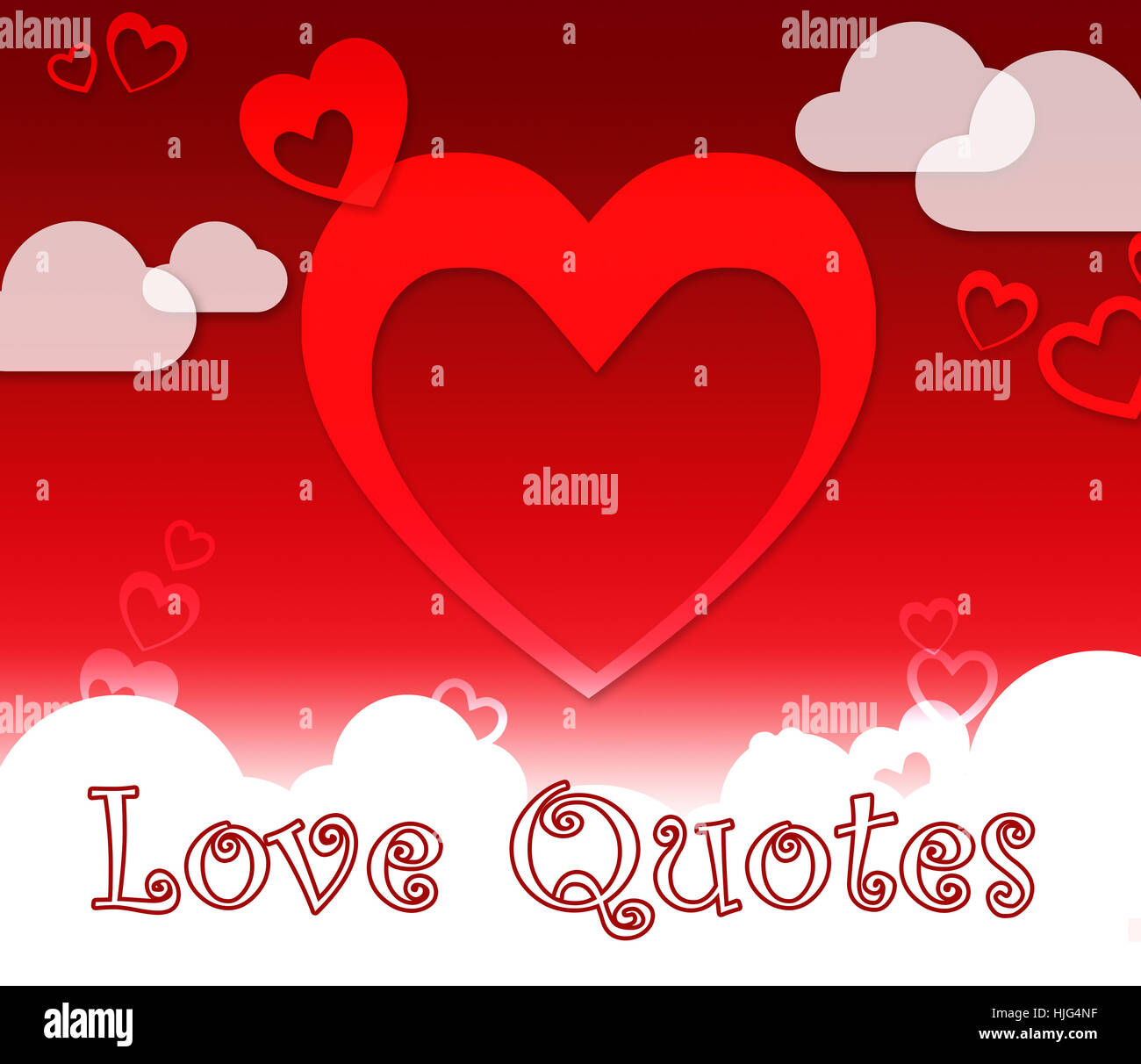 Love Quotes Shows Extracts Inspiration Stock Photos Love Quotes