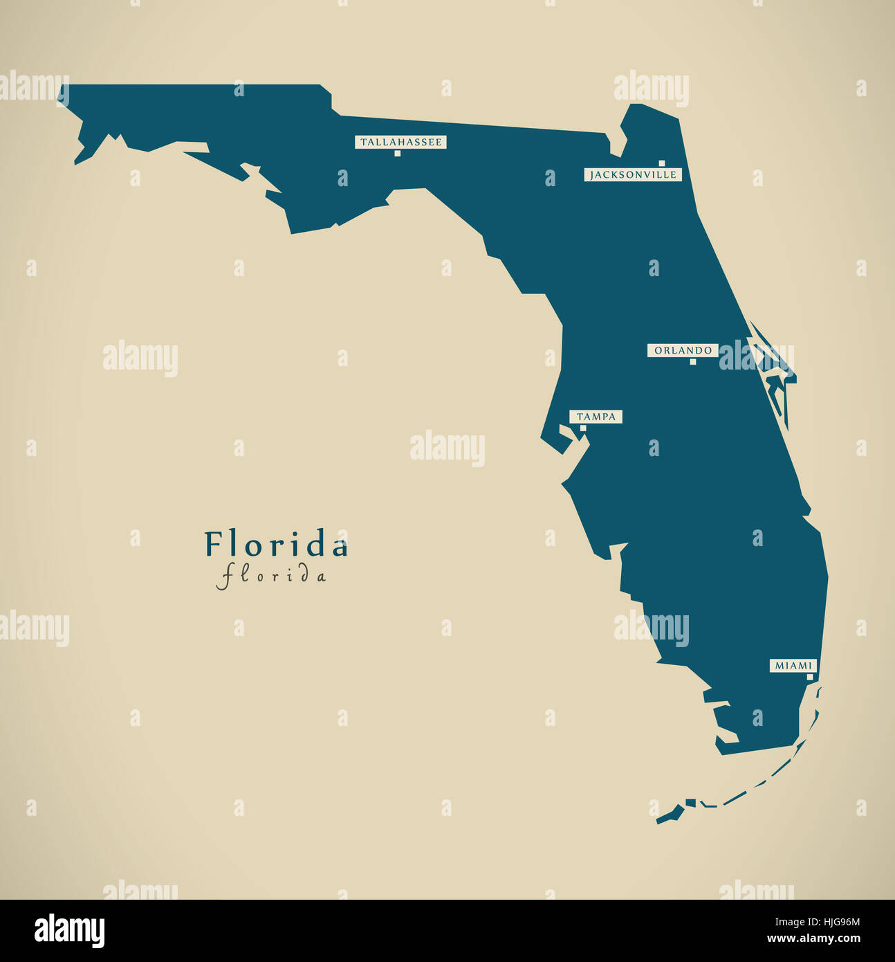 Map Of Florida With Counties.Map Of Florida Counties Stock Photos Map Of Florida Counties Stock