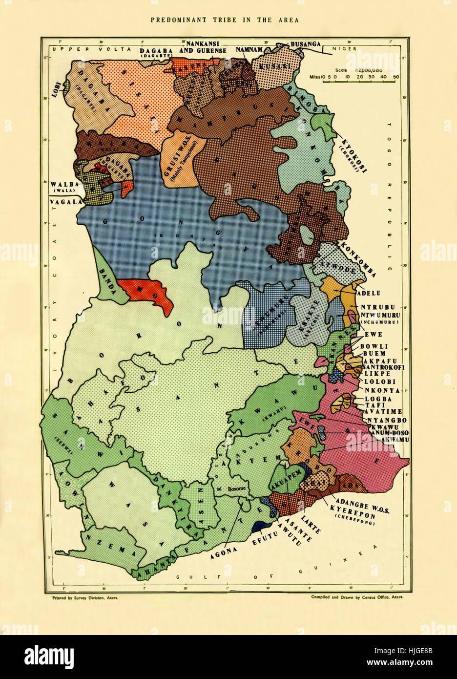 Tribal Map Of Ghana Stock Photos & Tribal Map Of Ghana Stock Images ...