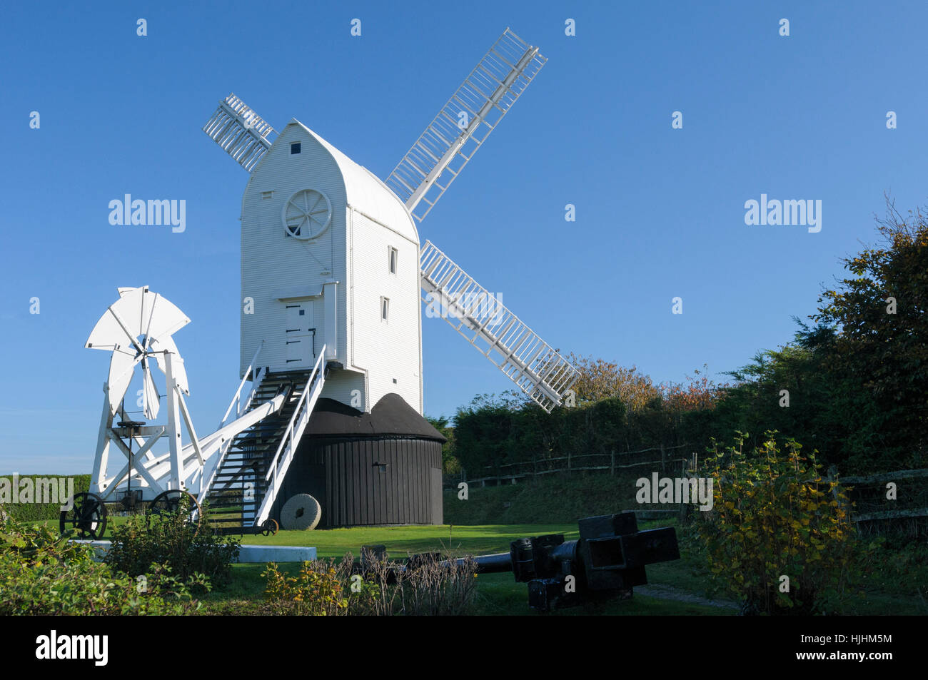 One of the Clayton windmills (Jill), Sussex, England, UK - Stock Image