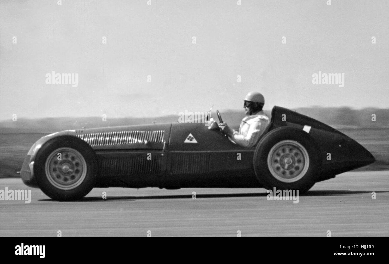Alfa Romeo 158 Reg Parnell, 1950 - Stock Image