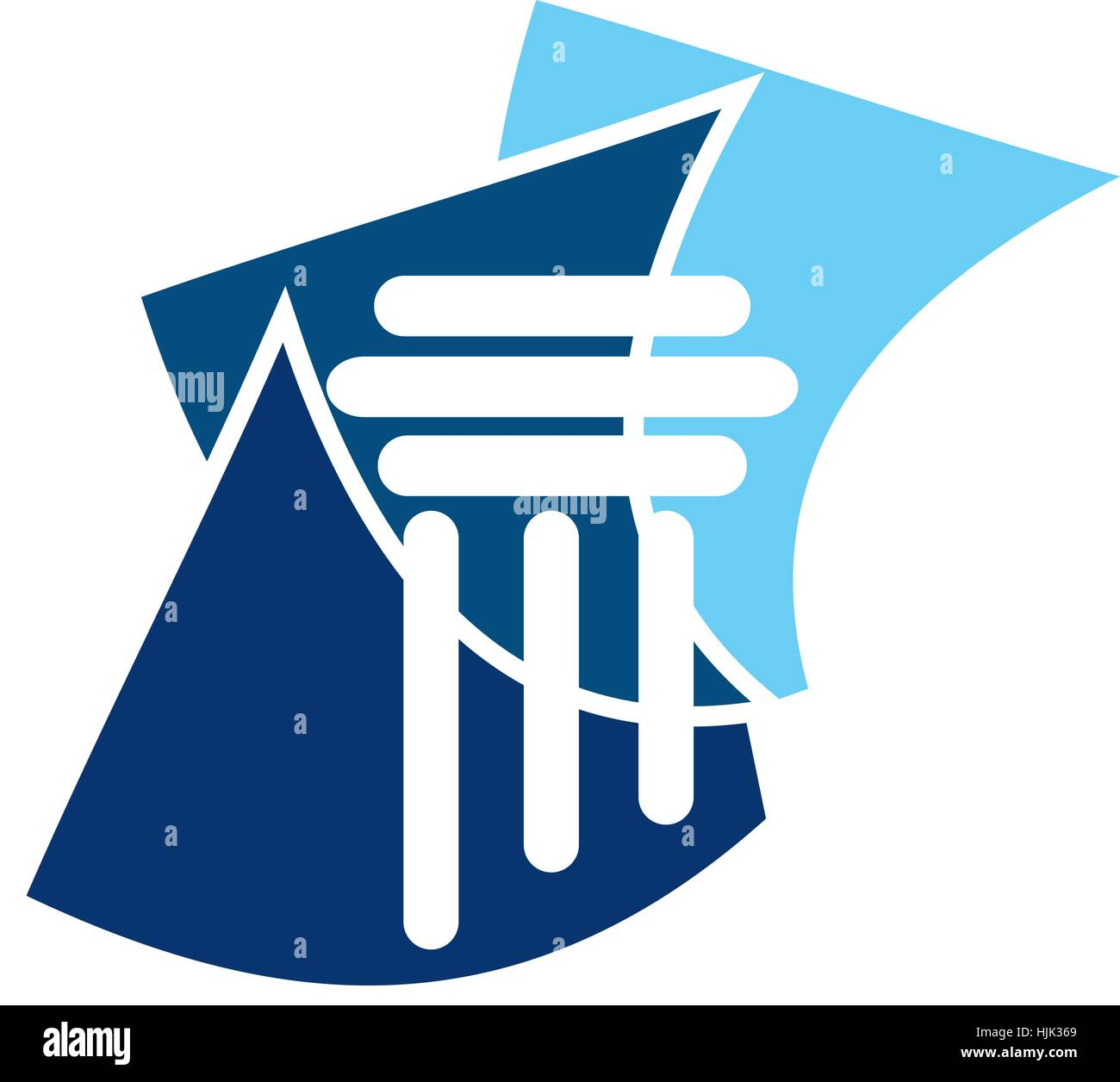 Justice Law Document - Stock Vector