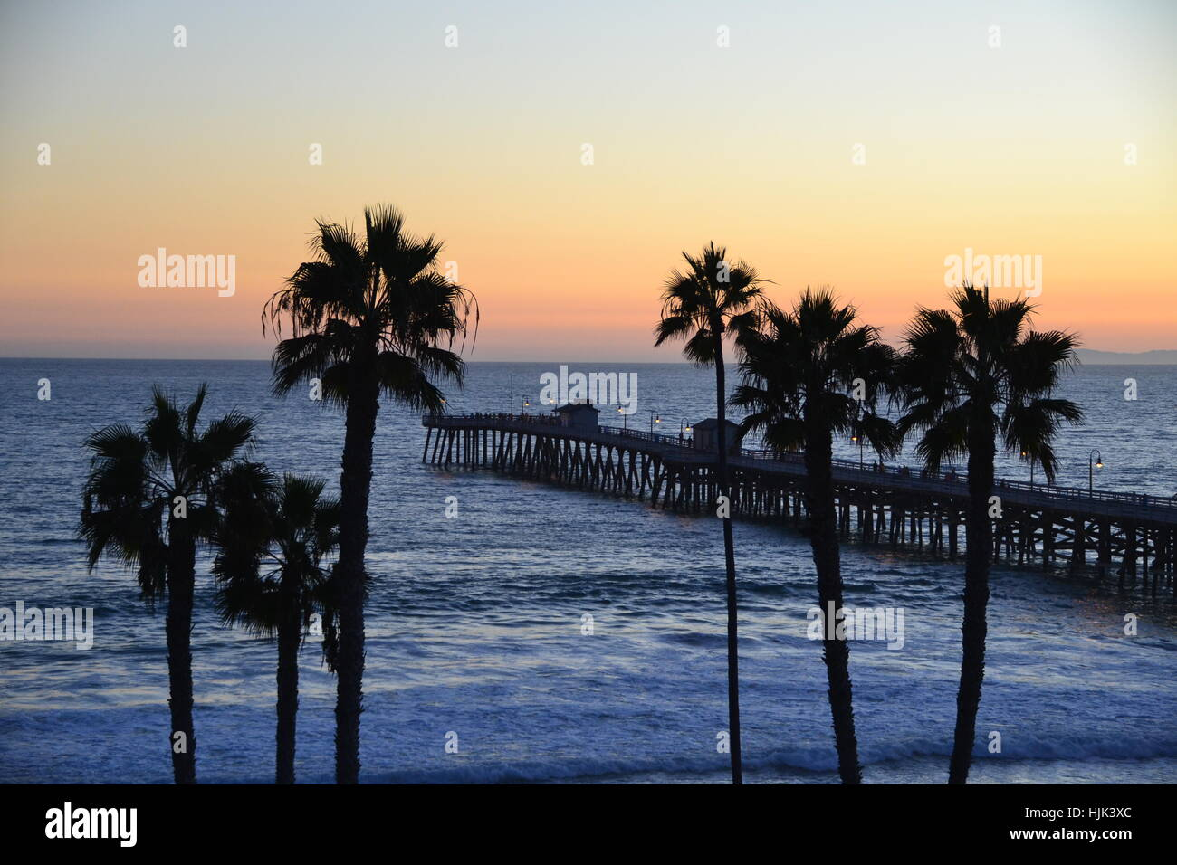 San Clemente Sunset Stock Photo
