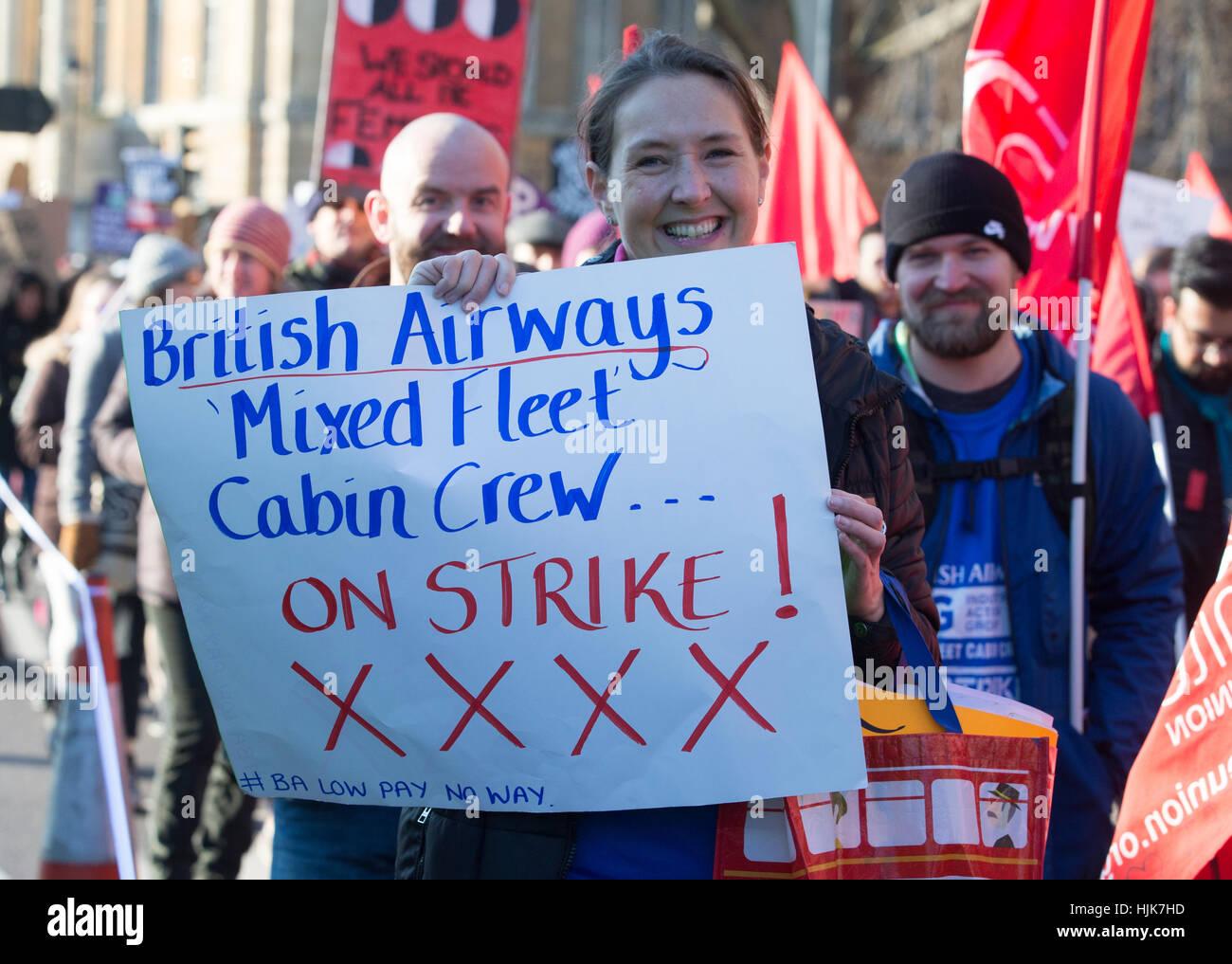 British Airways Cabin Crew Stock Photos & British Airways