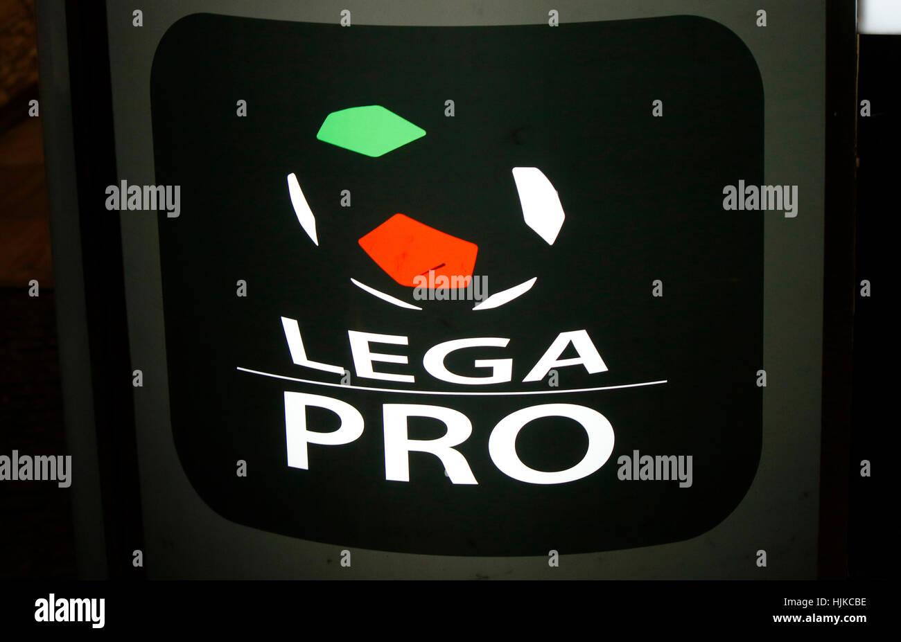 "das Logo der Marke ""Lega Pro"", Berlin. Stock Photo"