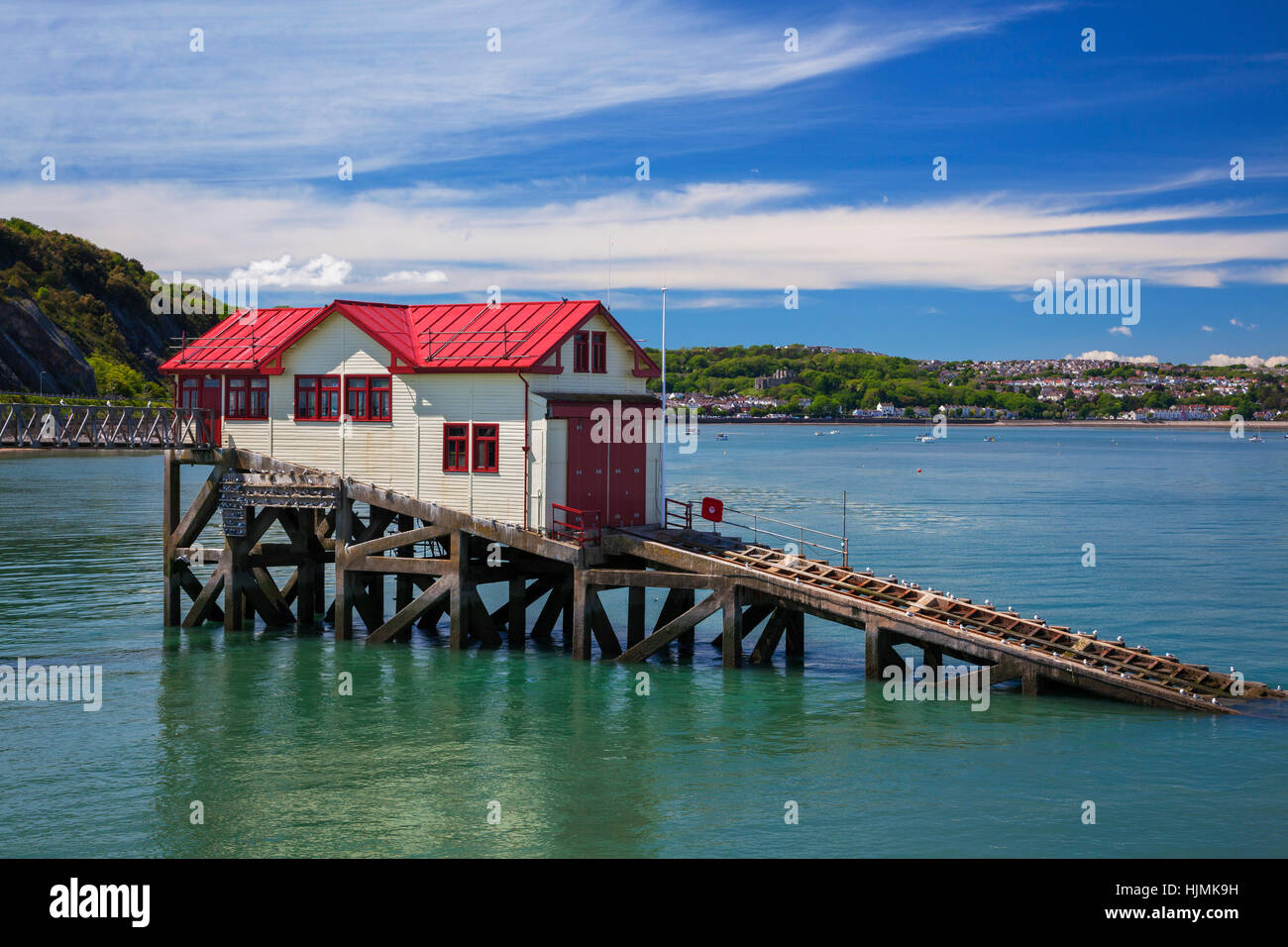 Mumbles Pier, Gower, Swansea, Wales, UK - Stock Image
