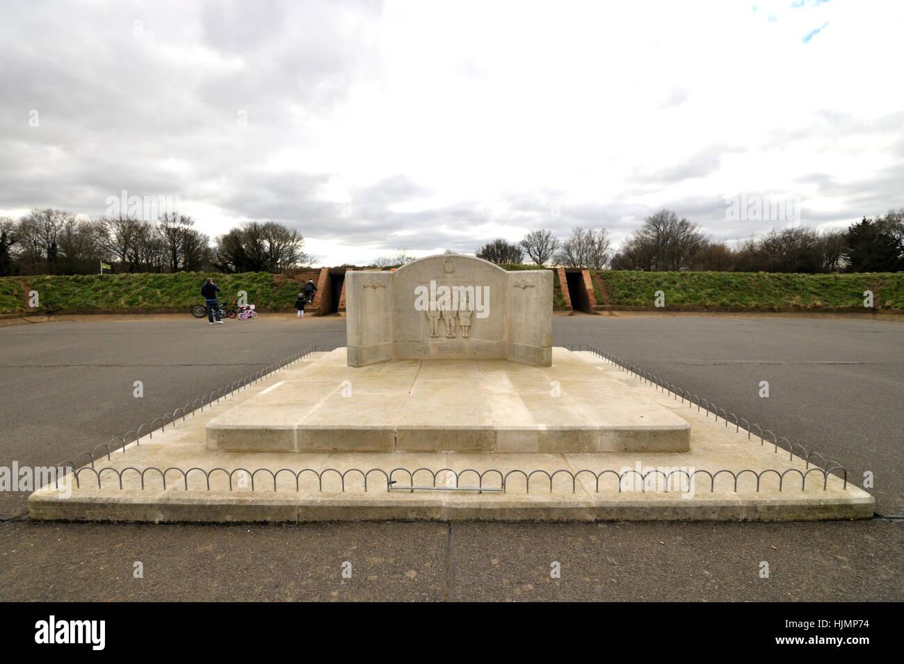 Kenley Aerodrome War Memorial - Stock Image