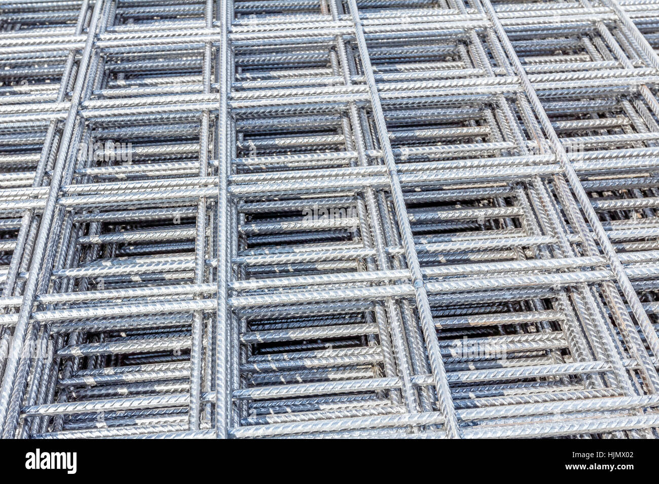 Stack Of Concrete Reinforcing Mesh Stock Photos & Stack Of Concrete ...