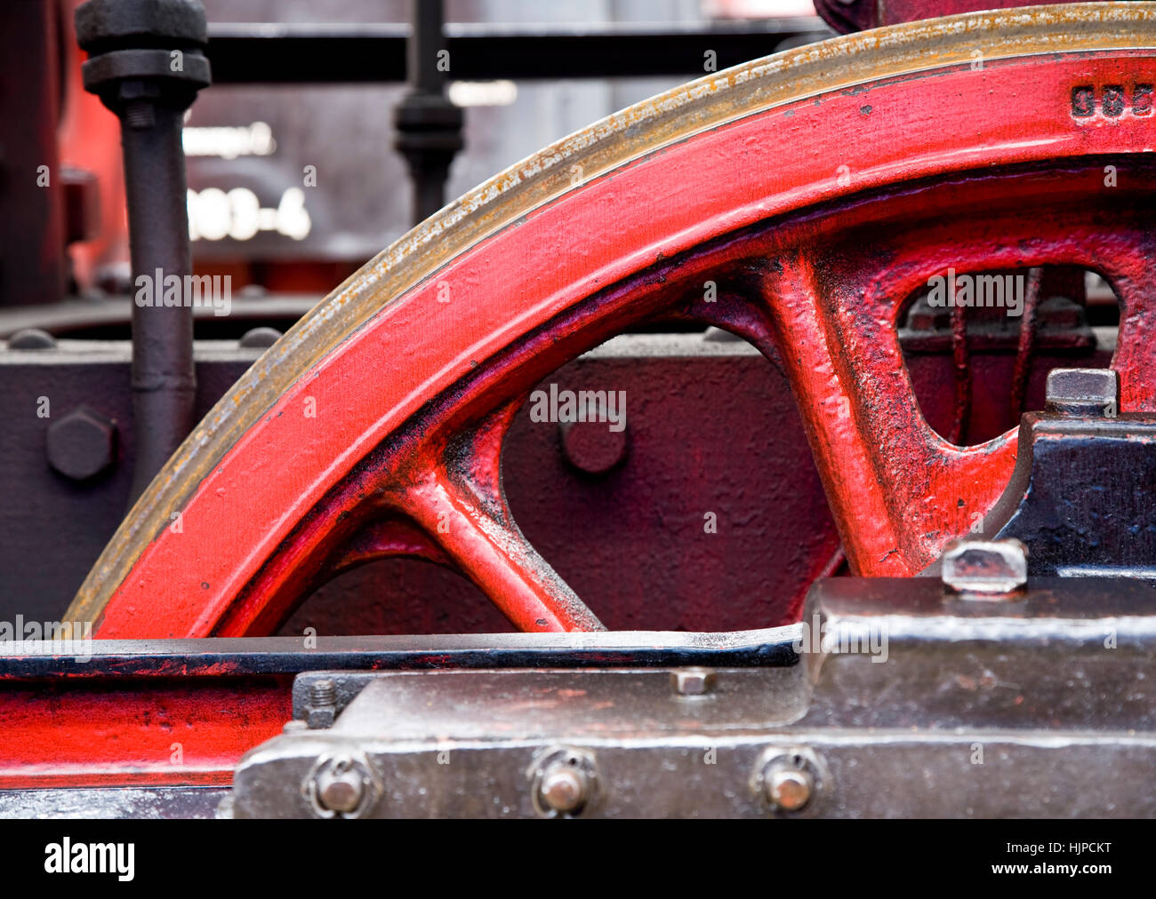 railway, locomotive, train, engine, rolling stock, vehicle, means of travel, Stock Photo