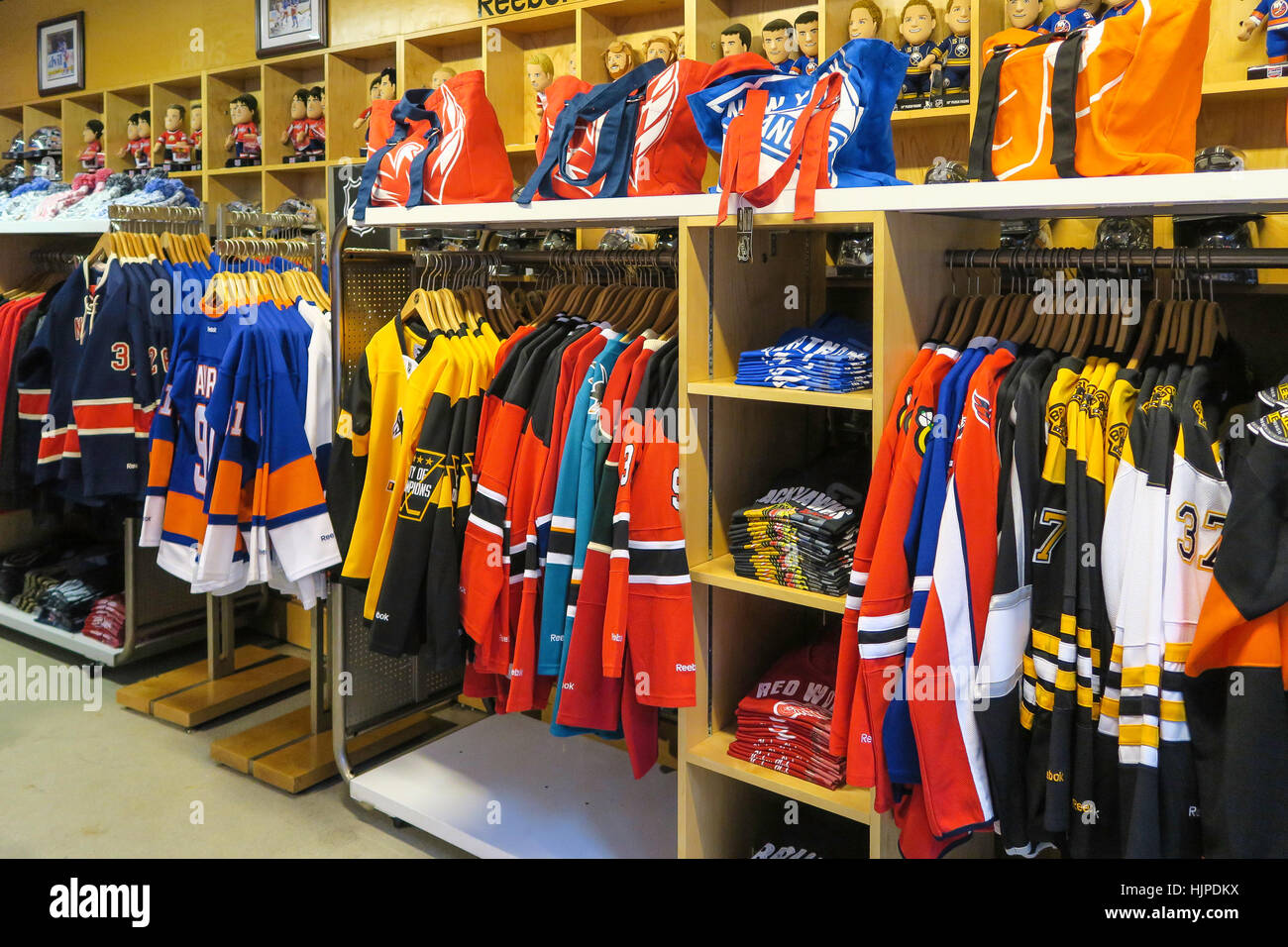 da8f2f8db93 NHL Powered by Reebok Store, 1185 Avenue of the Americas, at the corner of