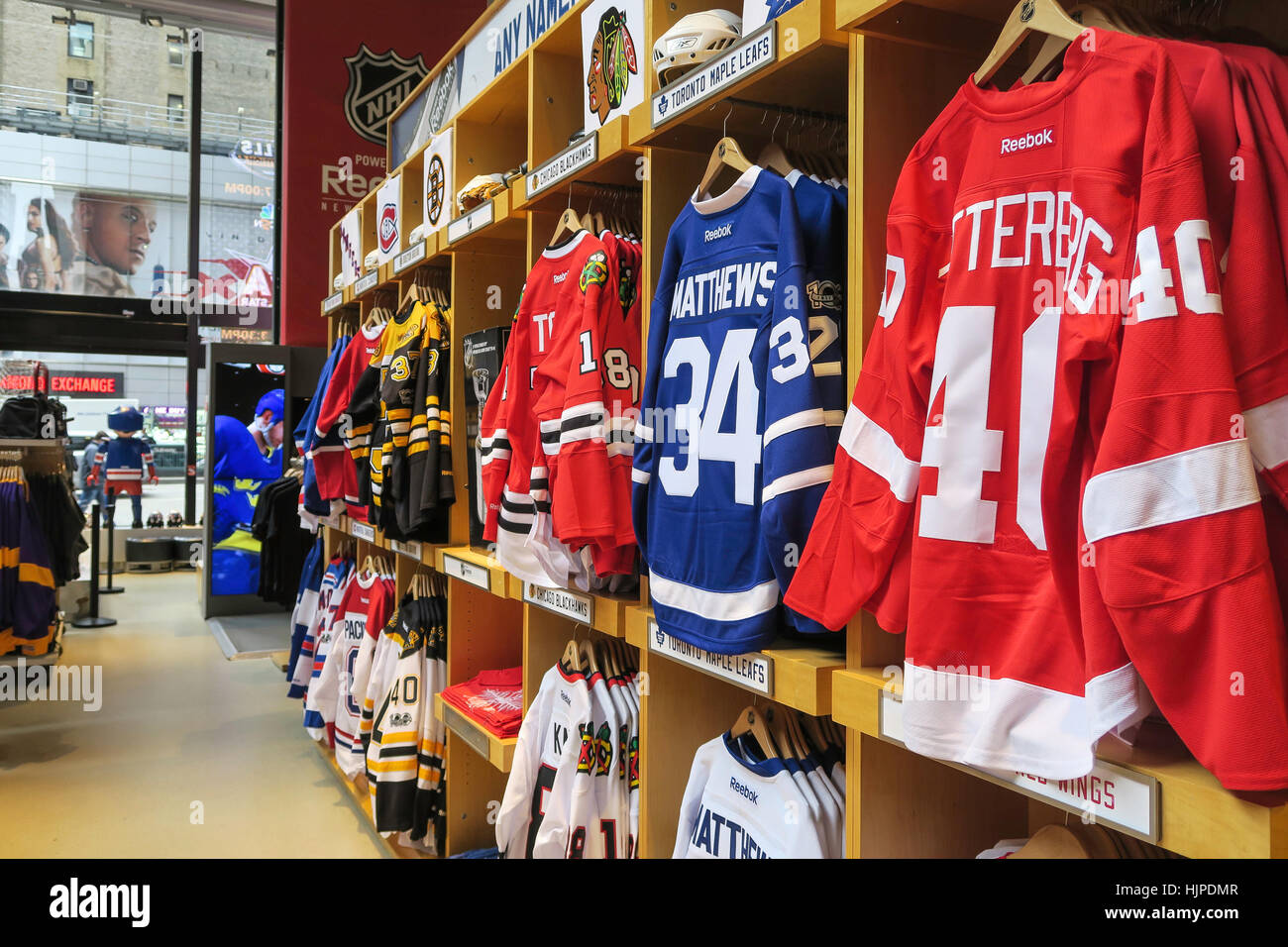 online store 0f48d 023e9 NHL Powered by Reebok Store, 1185 Avenue of the Americas, at ...