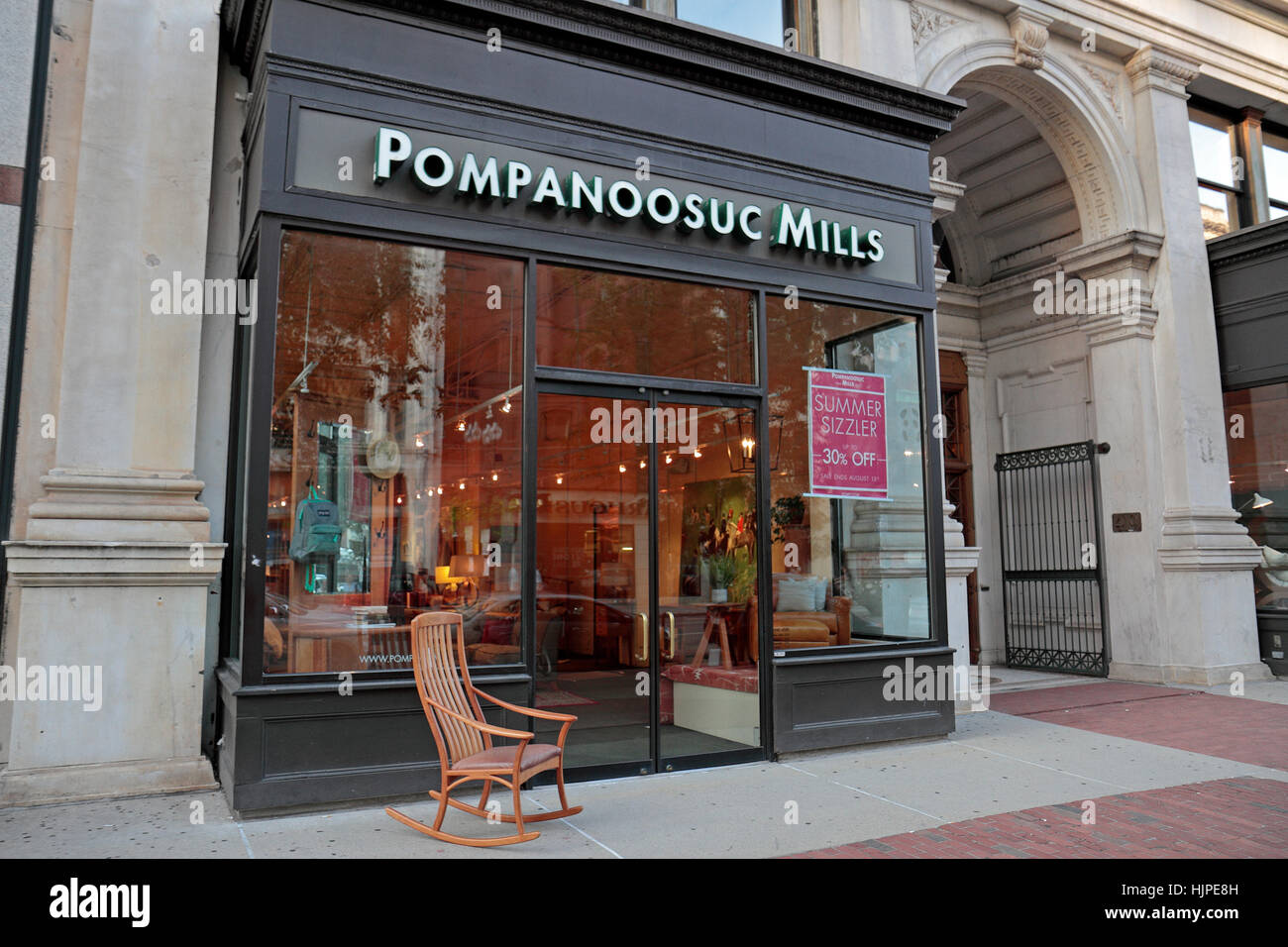 The Pompanoosuc Mills Furniture Store Retail Outlet On Boylston