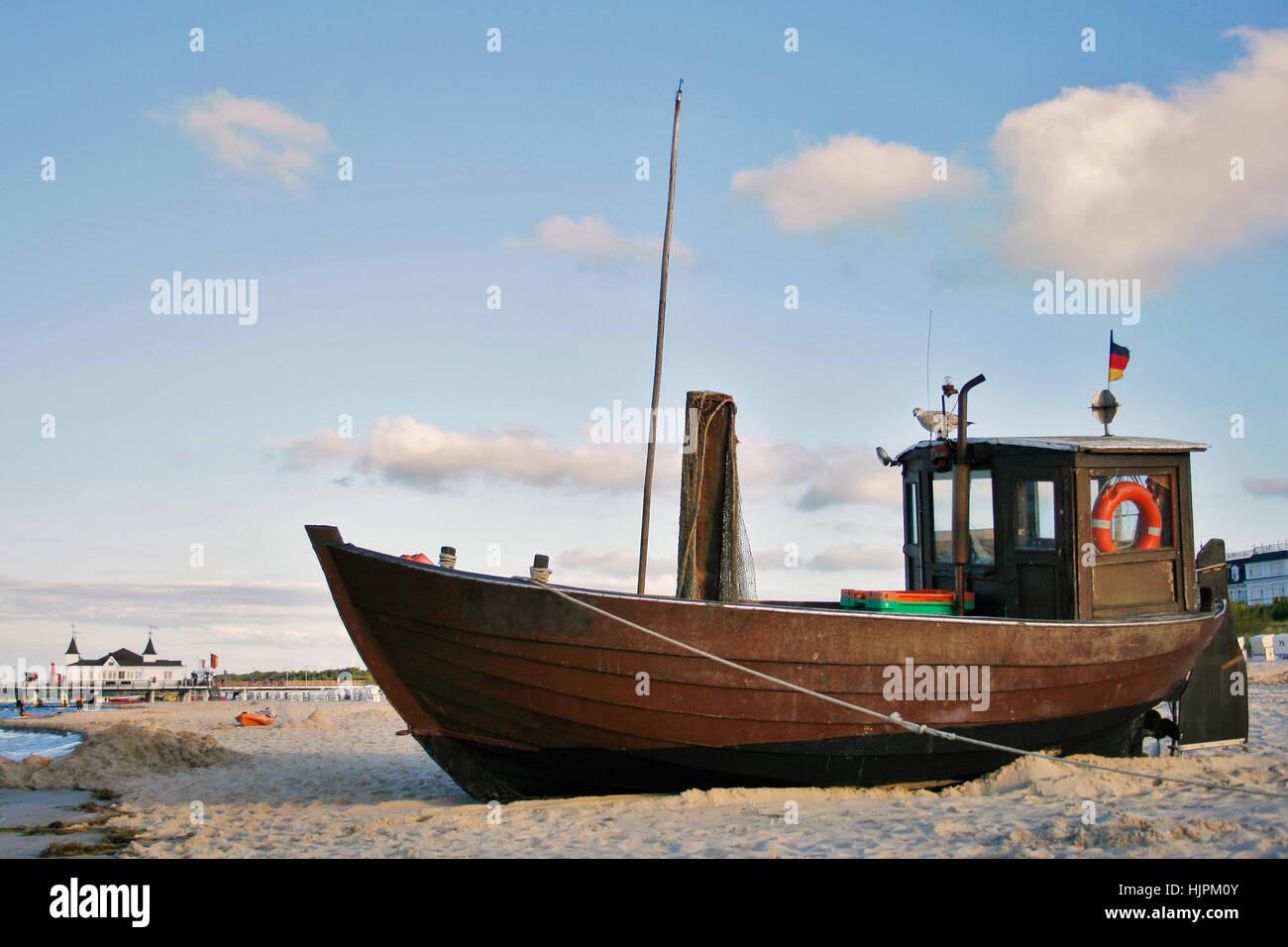 ostsee kutter Stock Photo