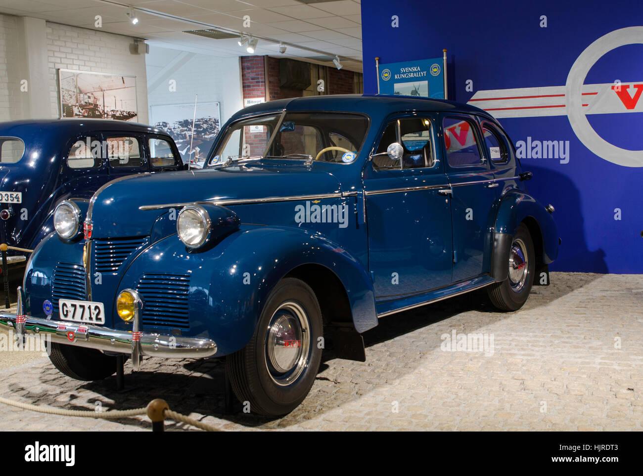 Old Volvo Car Stock Photo 132052147 Alamy