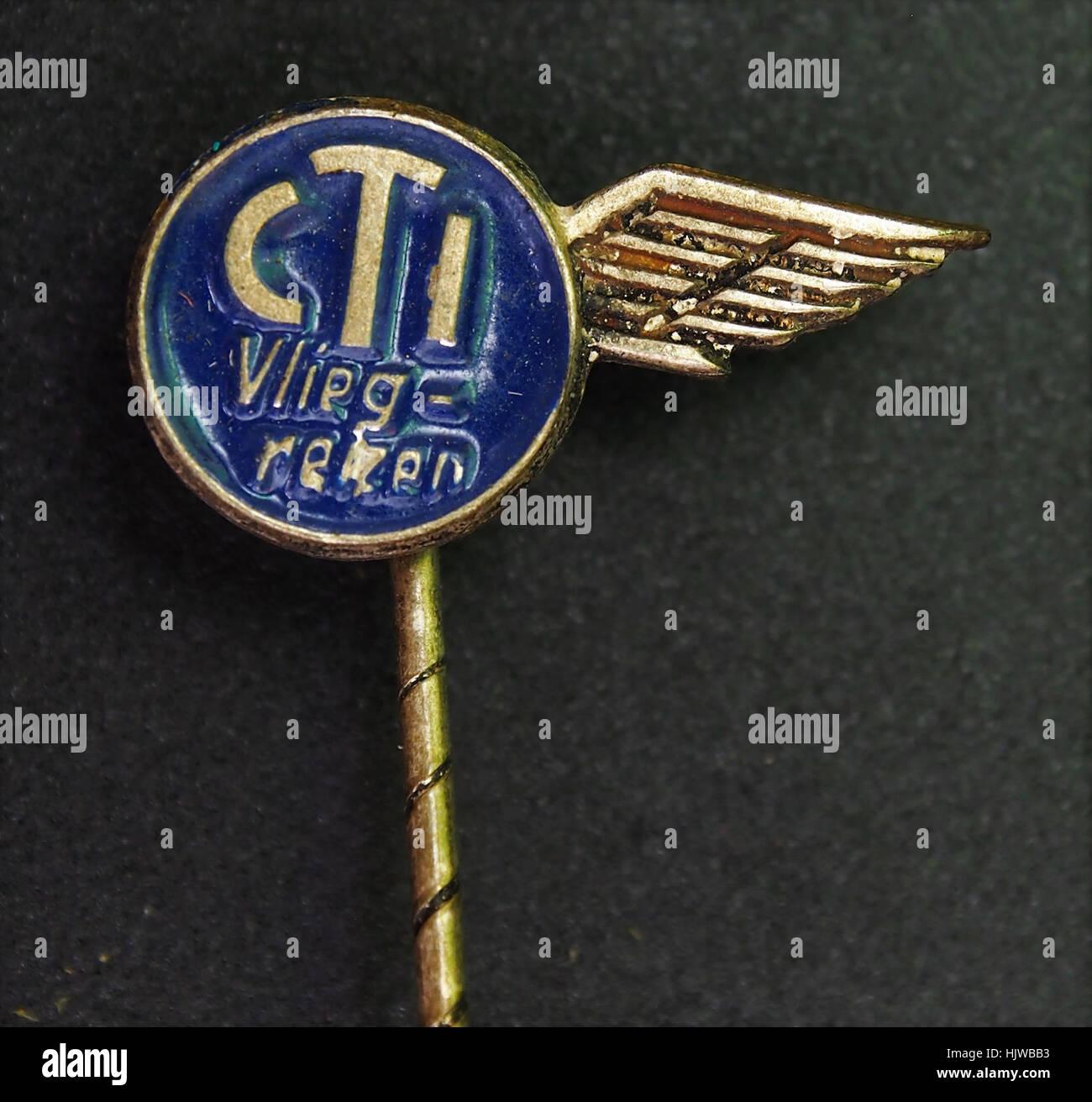 CTI vliegreizen speldje - Stock Image