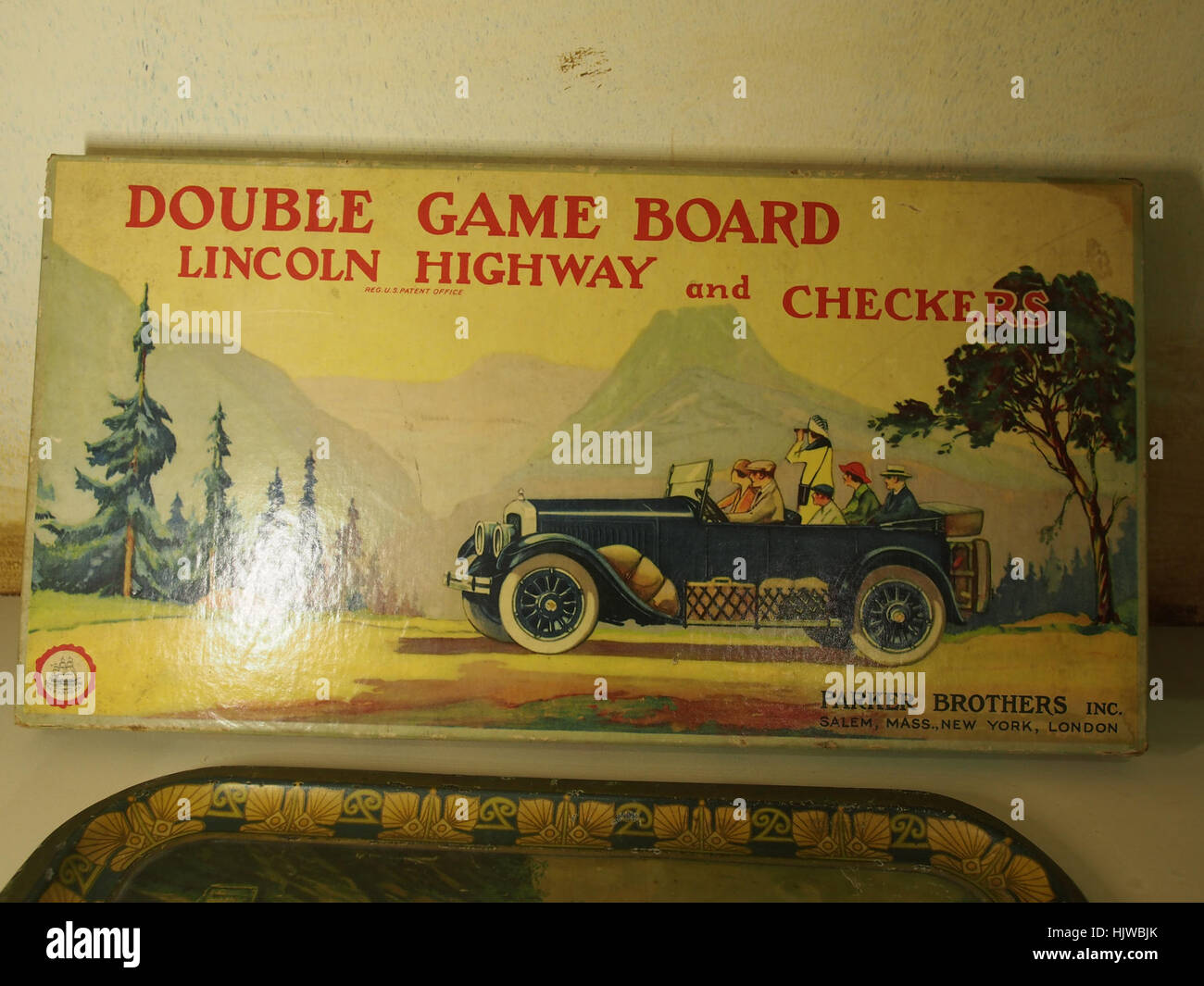 Lincoln Highway game at the Louwman museum Stock Photo
