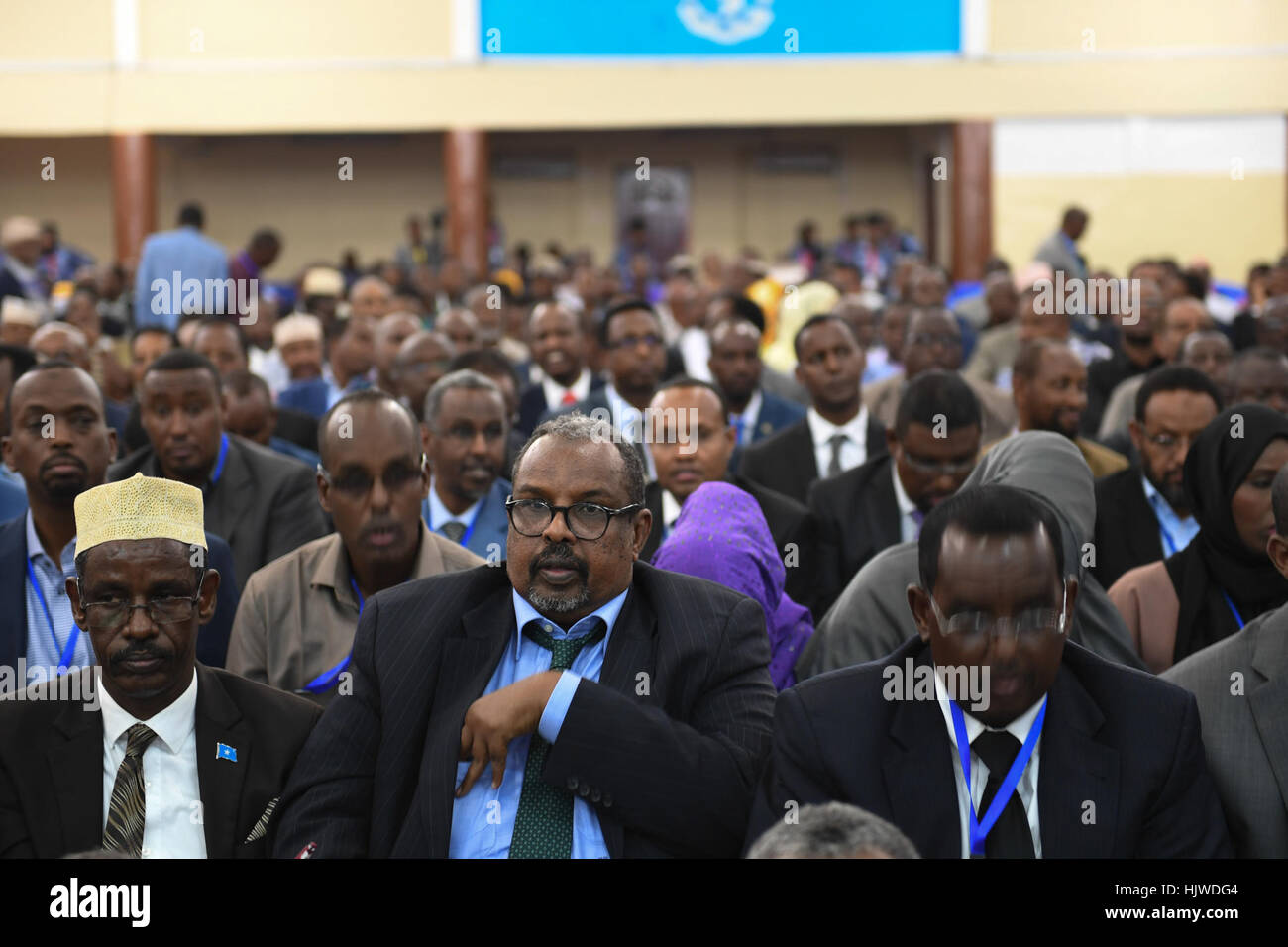 Newly Elected Members Parliament Somali Stock Photos & Newly