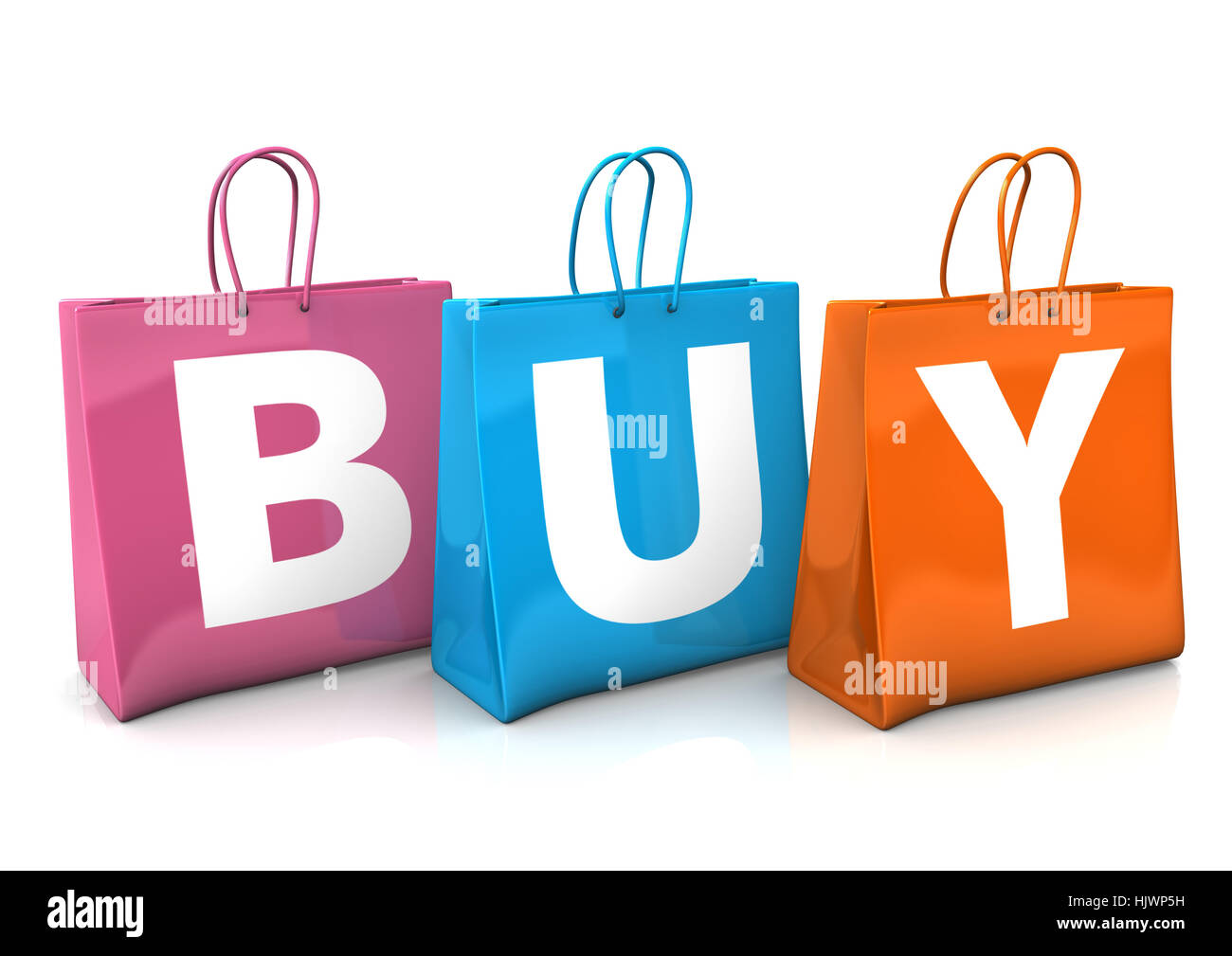 object, fashion, colour, illustration, shopping, gift, package, idea, - Stock Image