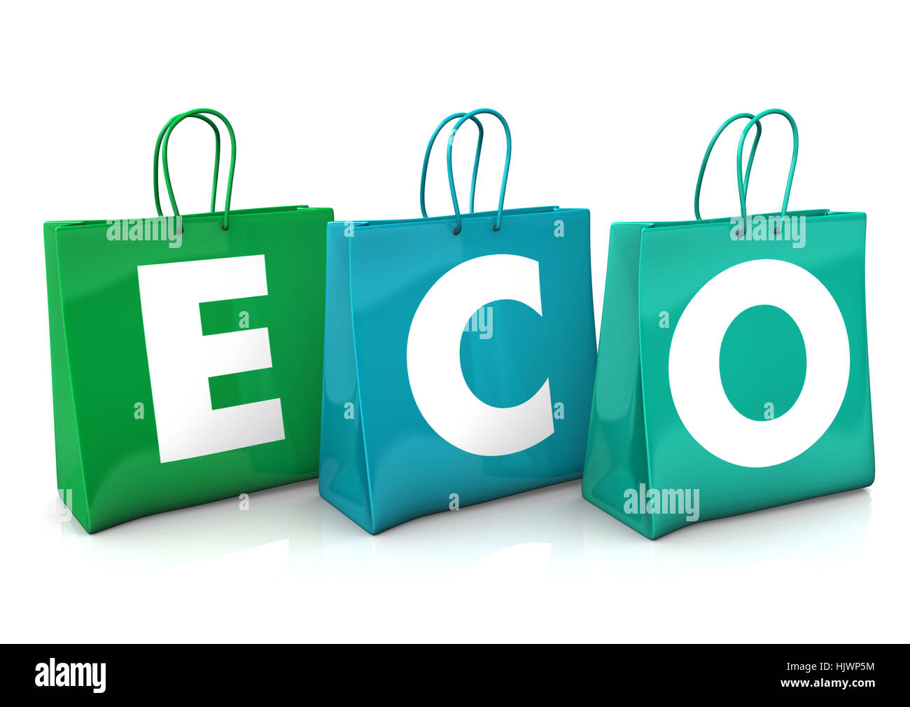 object, eco, environment, enviroment, fashion, colour, illustration, shopping, - Stock Image