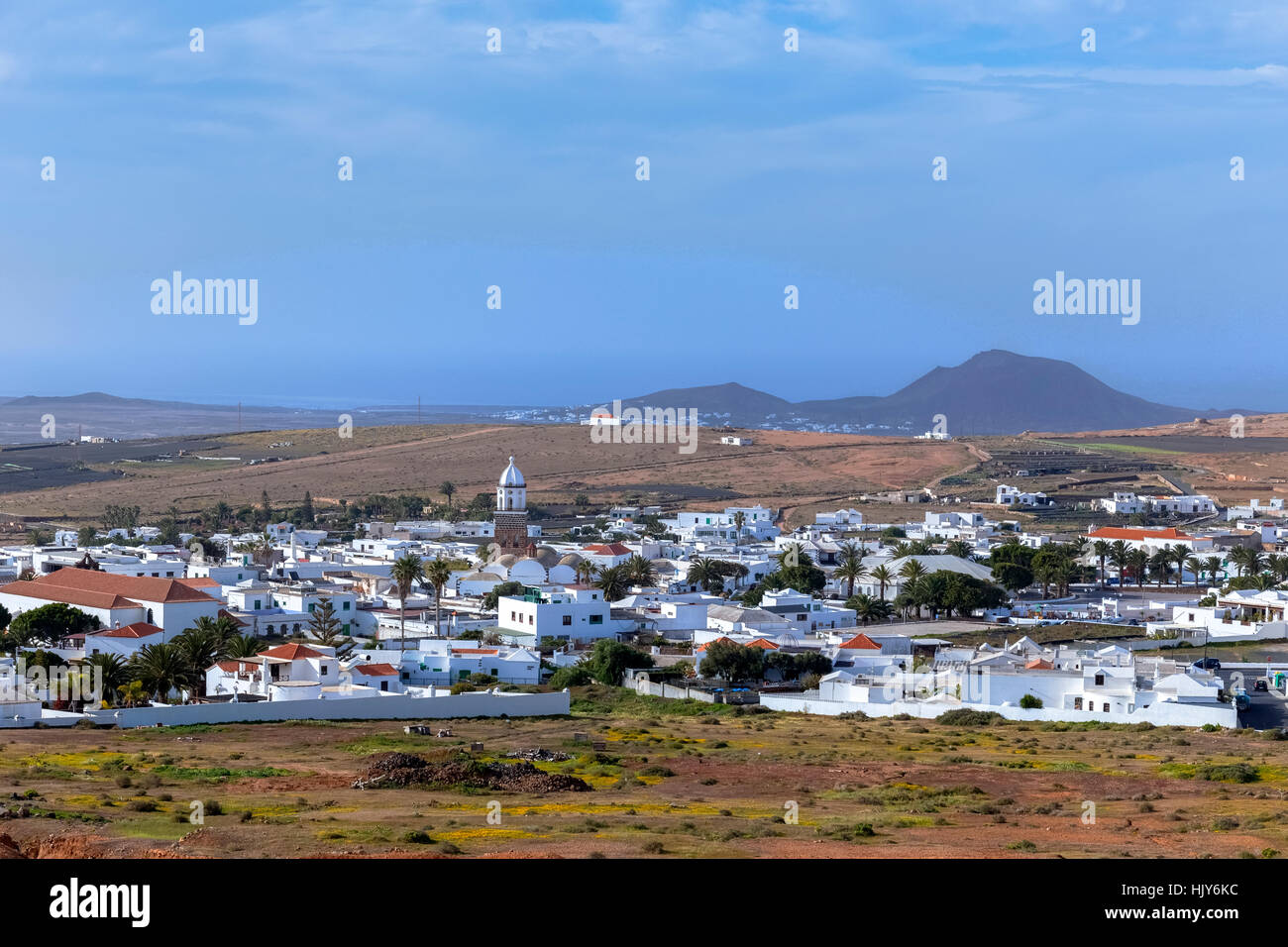Teguise, Lanzarote, Canary Islands, Spain - Stock Image